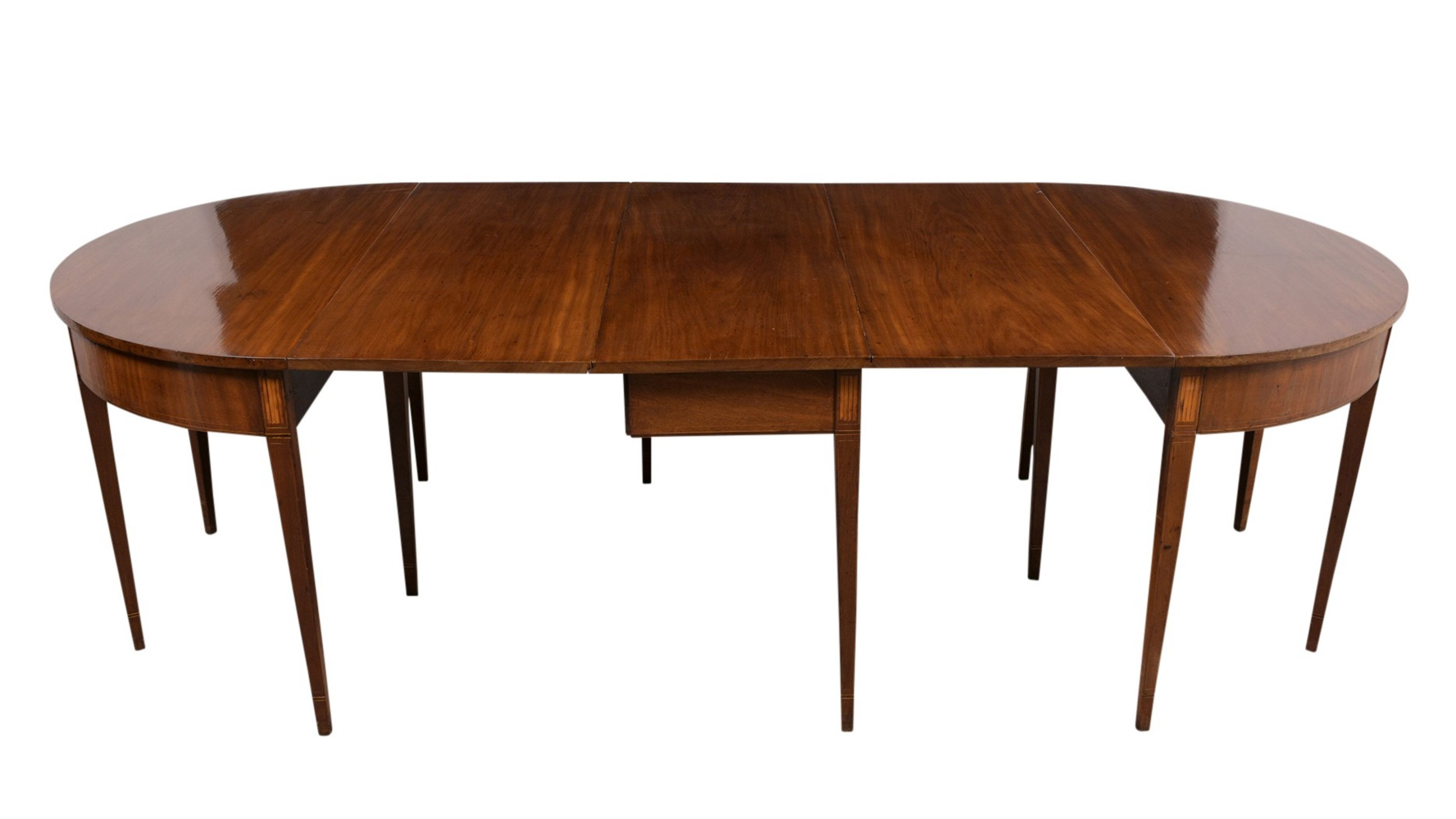 18th Century English Federal Dining Table