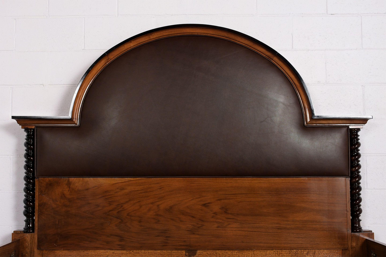 1930's Regency Style King Size Bed