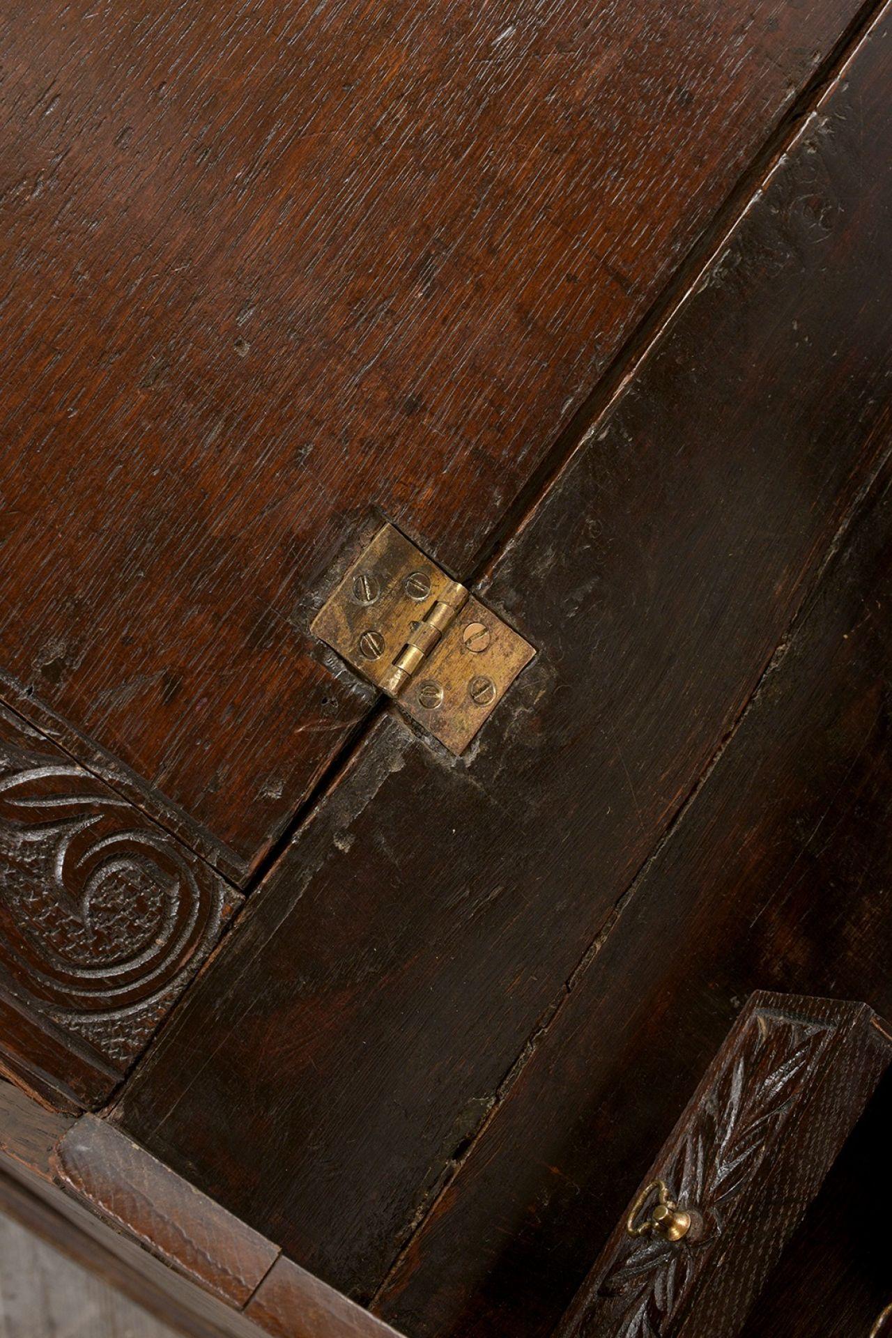Early 19th Century Renaissance Style Slant Front Desk