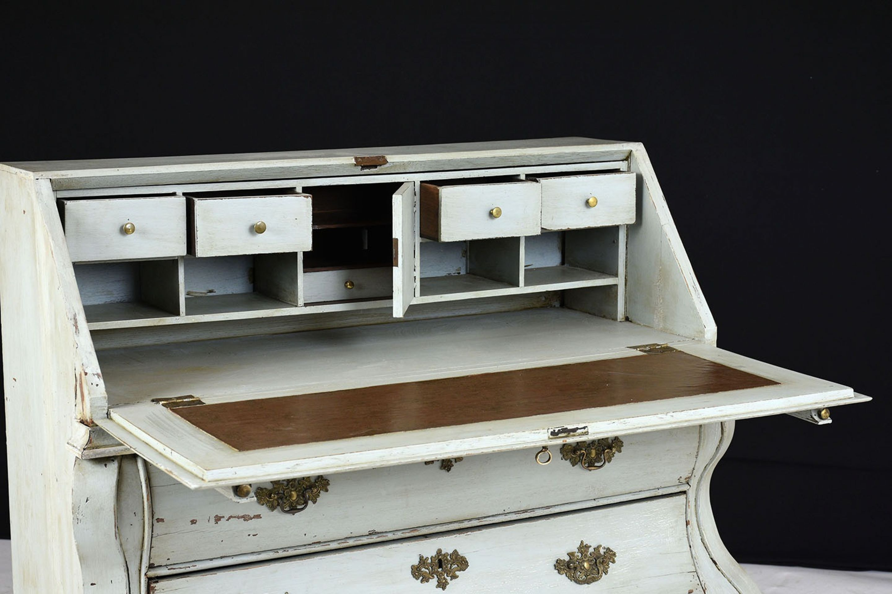 Late 19th Century Painted Drop-Top Desk