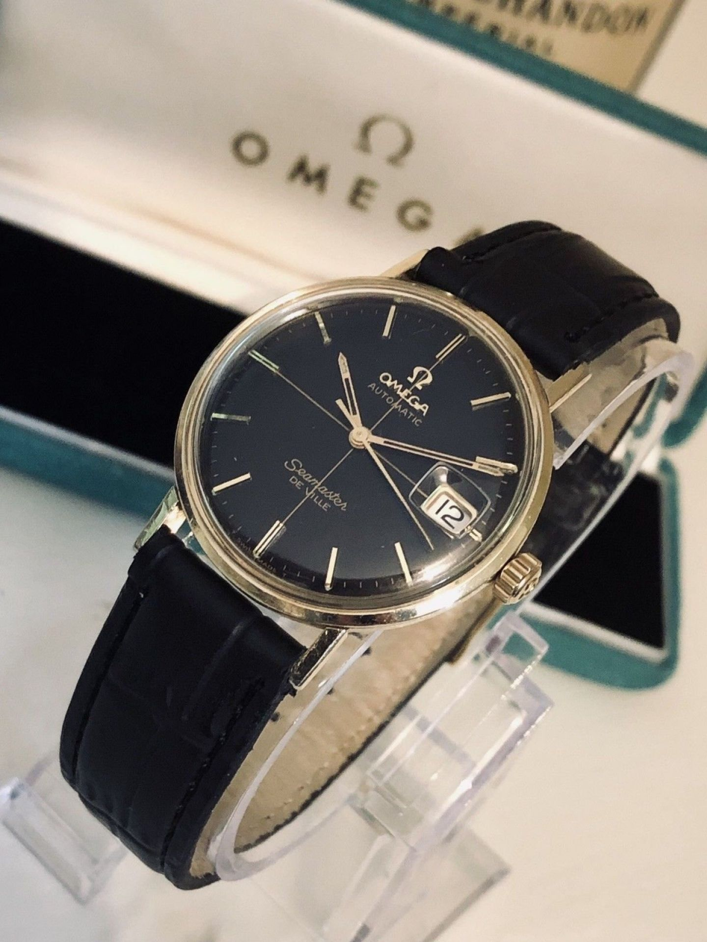 OMEGA SEAMASTER DE VILLE VINTAGE WATCH MECHANICAL AUTOMATIC CAL