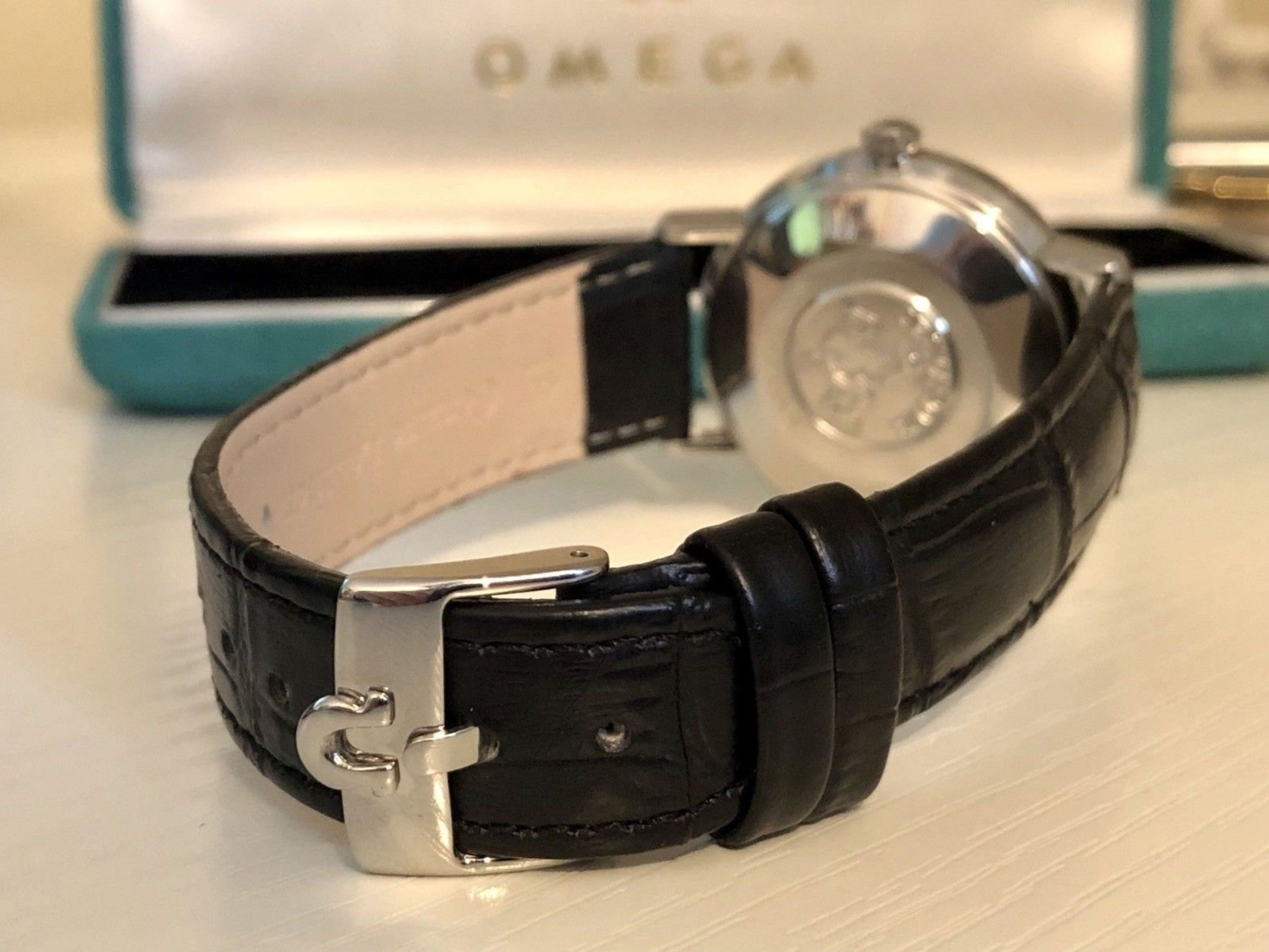 OMEGA SEAMASTER DE VILLE VINTAGE WATCH CAL 552 MECHANICAL AUTOMATIC STAINLESS
