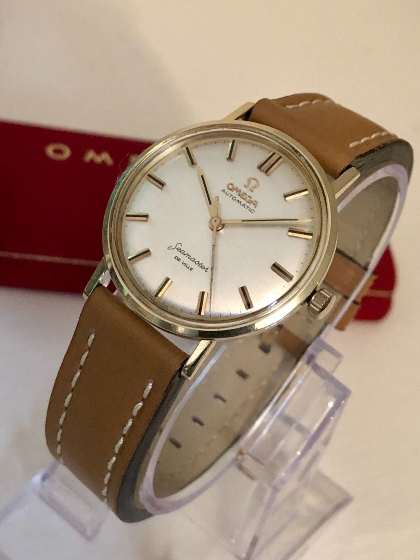 OMEGA SEAMASTER DE VILLE VINTAGE WATCH CAL 552 AUTOMATIC