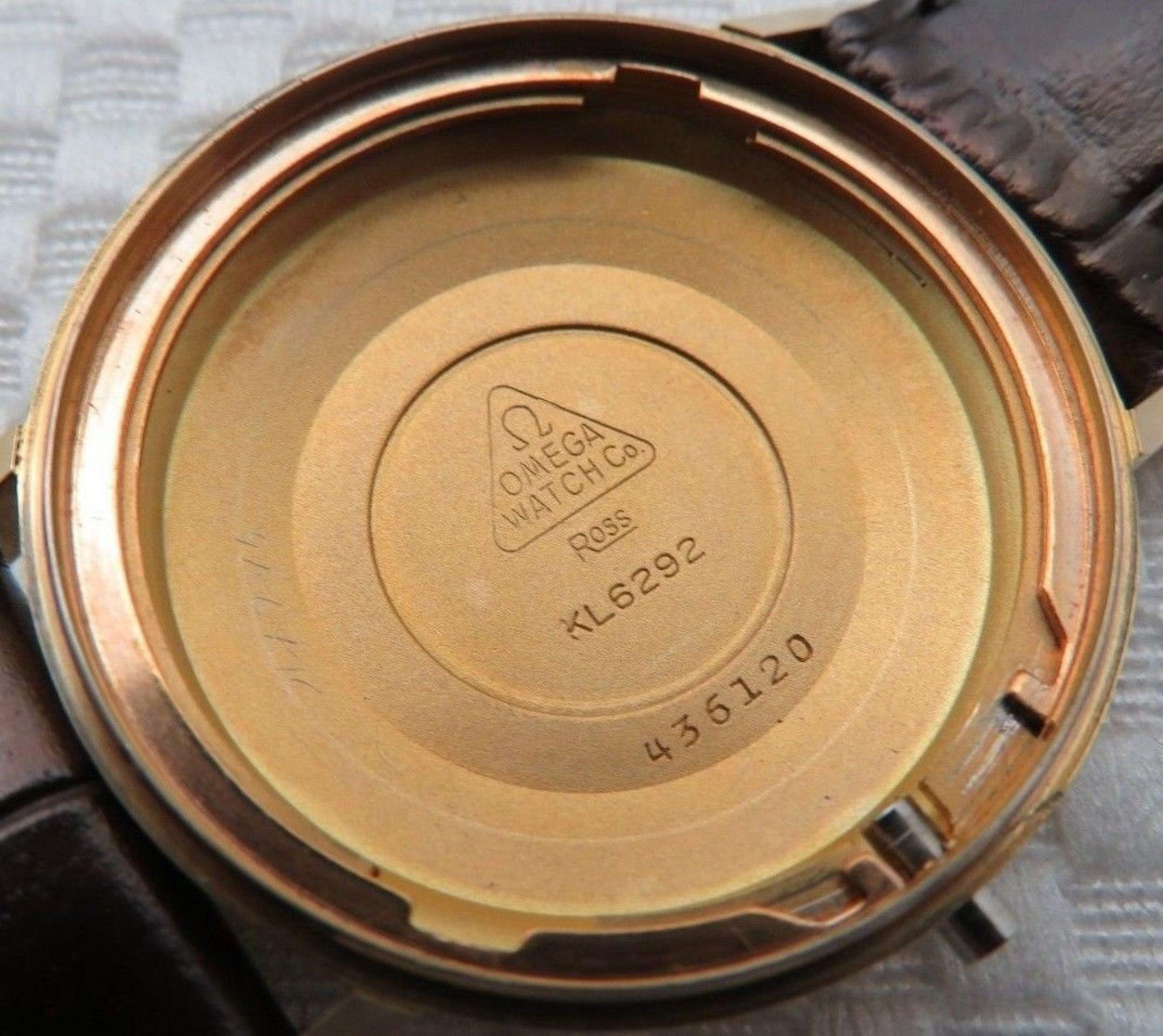 OMEGA SEAMASTER DE VILLE CROSSHAIR DIAL VINTAGE WATCH CAL 560 AUTOMATIC