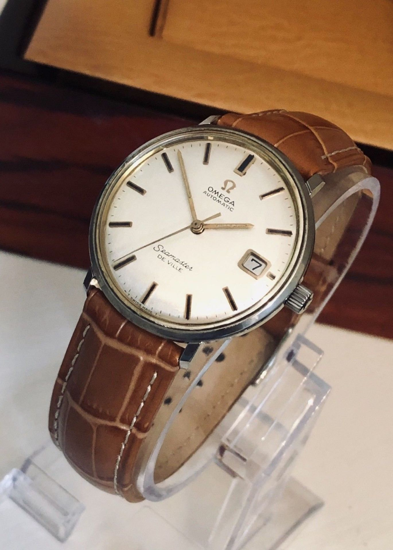OMEGA SEAMASTER DE VILLE VINTAGE WATCH CAL 563 MECHANICAL AUTOMATIC