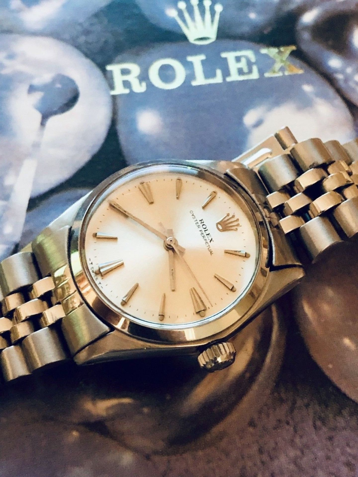 ROLEX OYSTER PERPETUAL REF 6549 1960-69 AUTOMATIC 1160 MIDSIZE 31MM