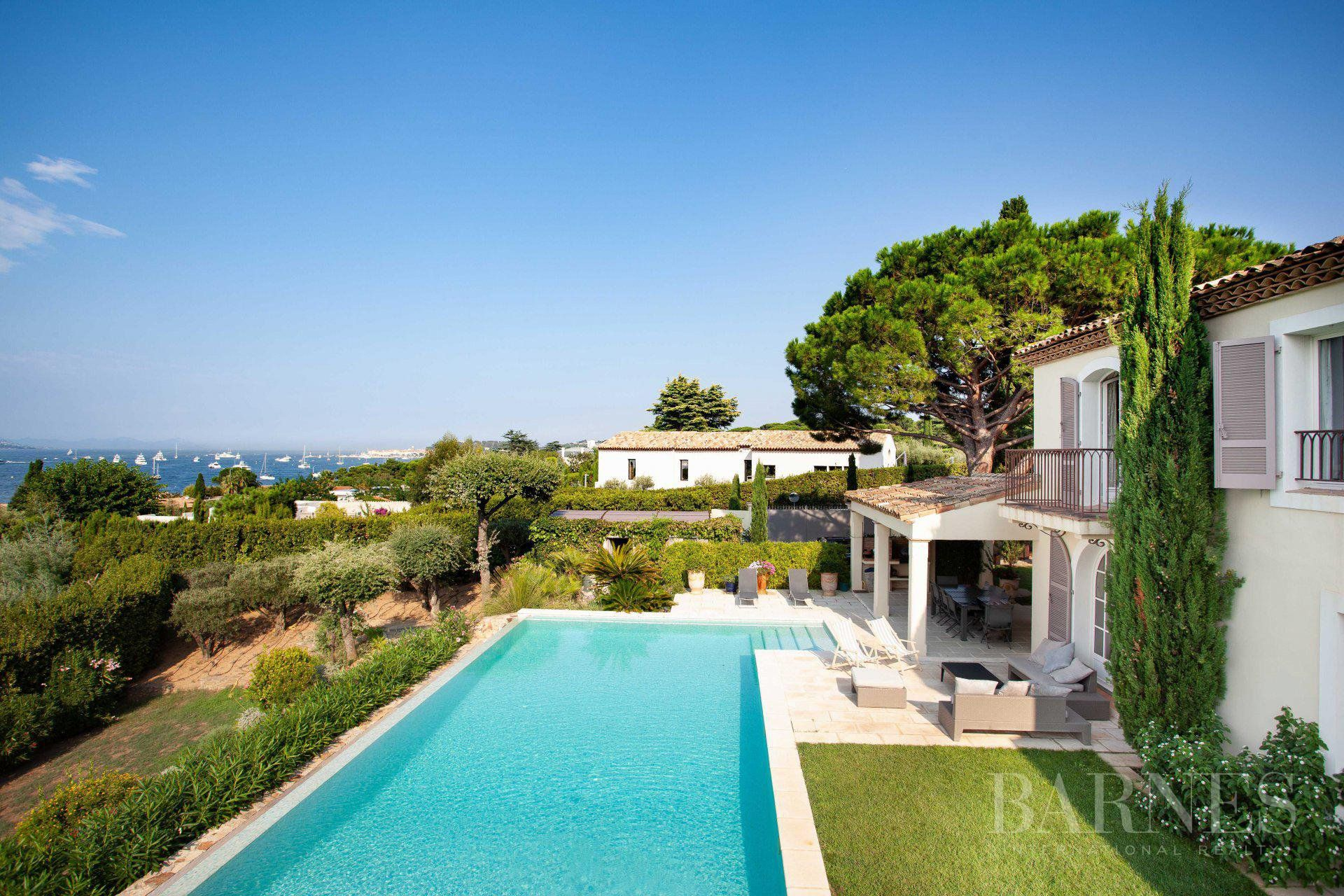 GASSIN - PANORAMIC VIEW SEA AND VILLAGE SAINT-TROPEZ