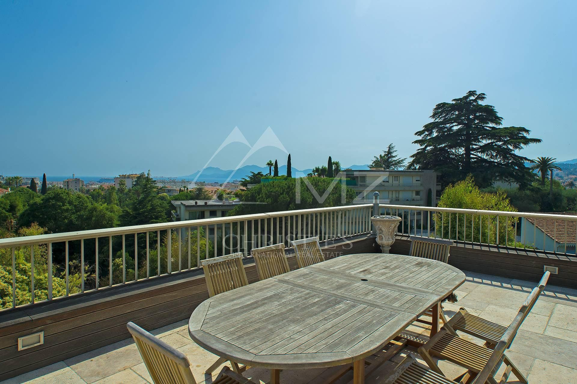 Cannes - Californie - Penthouse with panoramic sea view