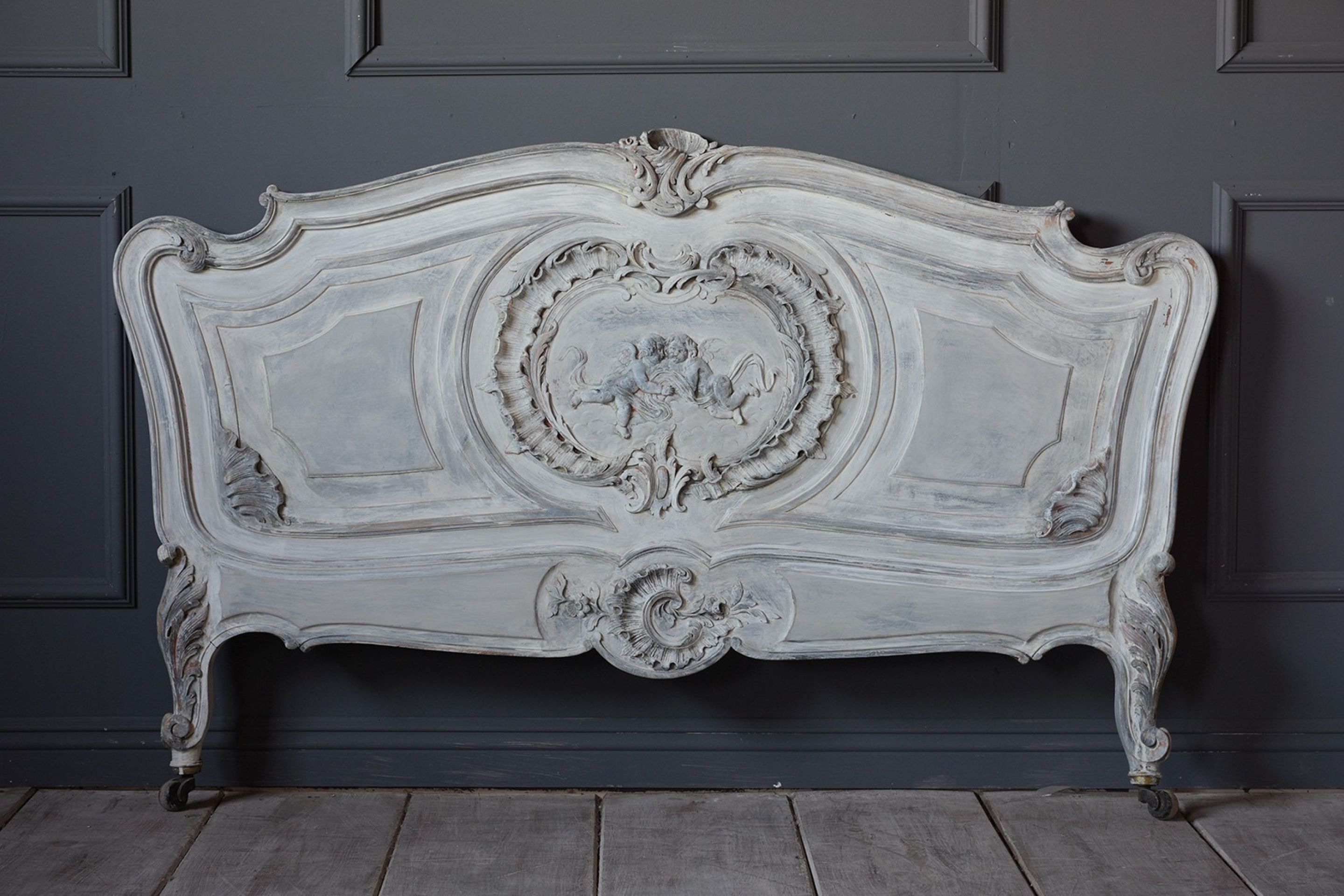 French 19th Century Louis XV Style Bed Frame