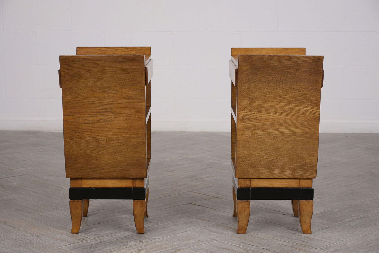 Pair of Italian Gio Ponte Design Nightstands