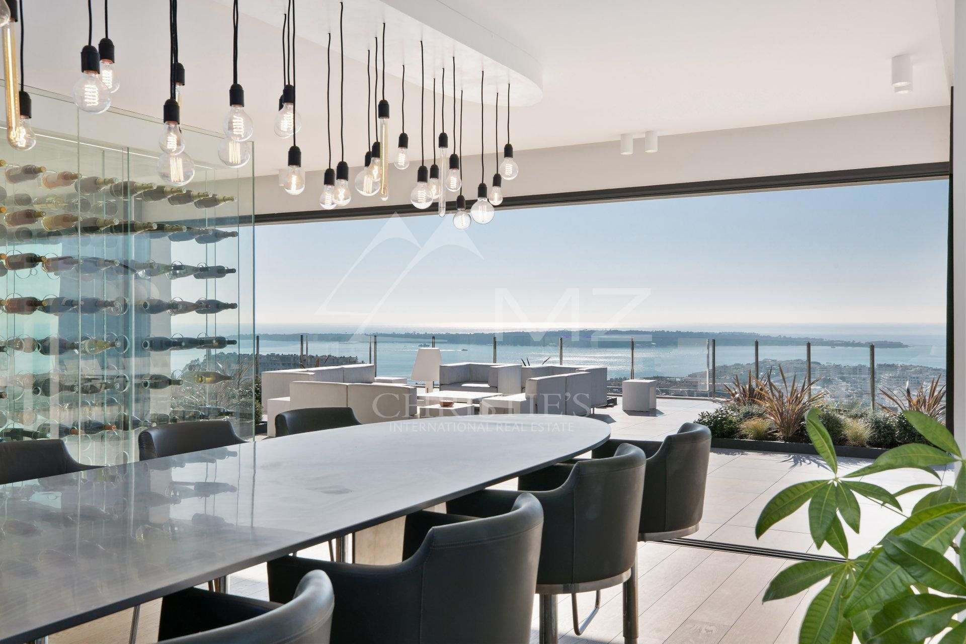 Cannes - Californie - Unique duplex with private pool and garden