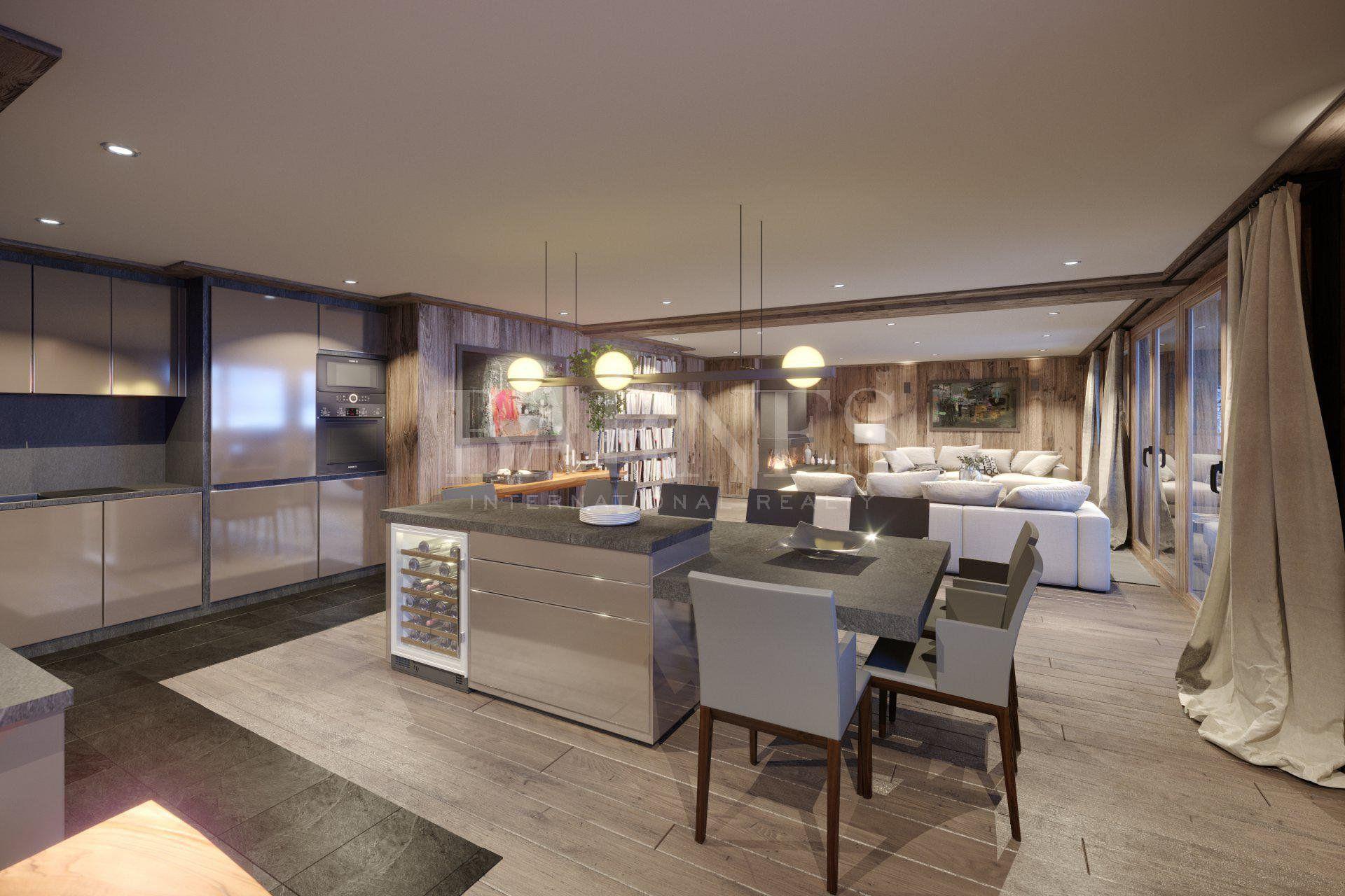 Stunning 4 bedrooms, ski in ski out