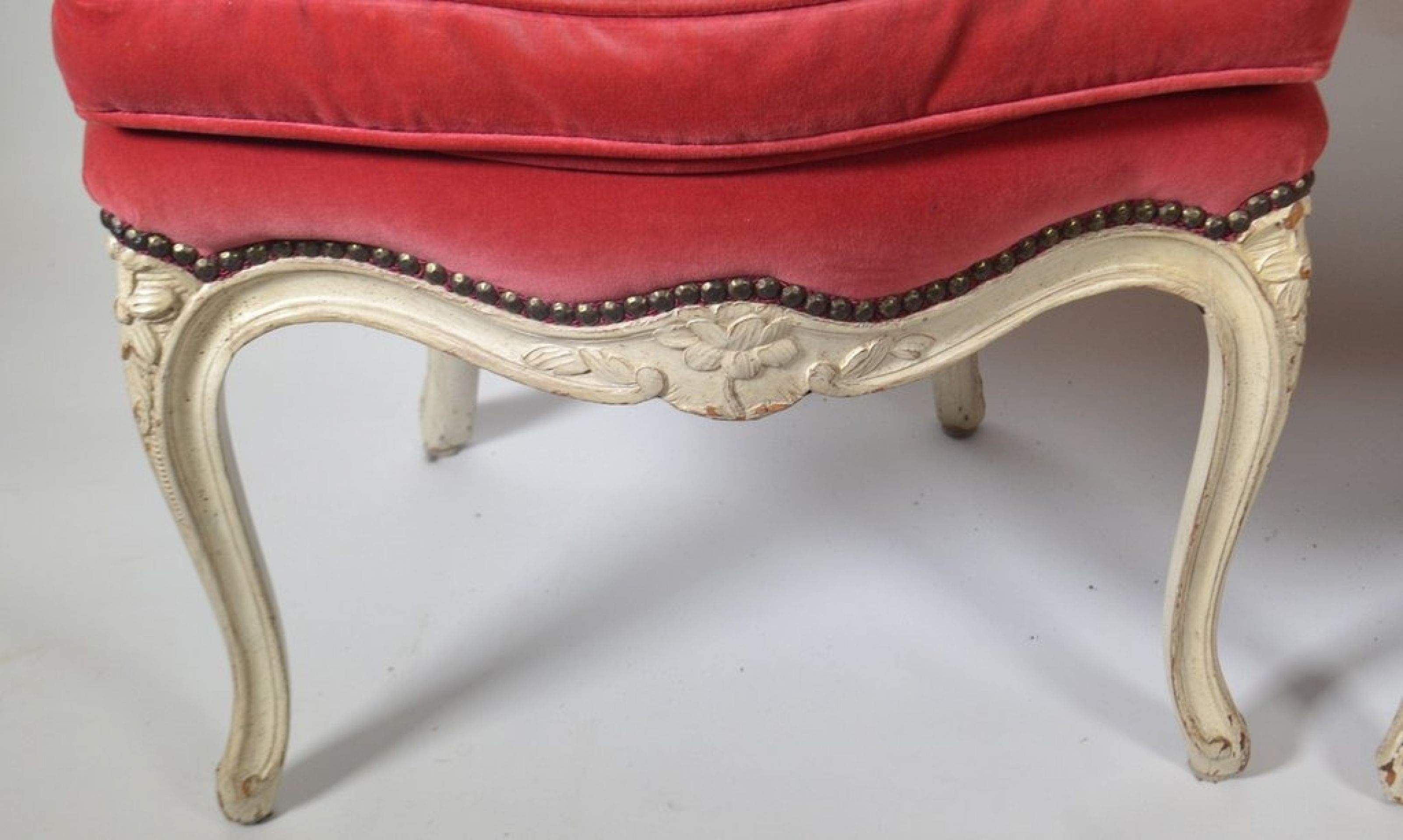 Pair Of Louis XV Carved Chairs