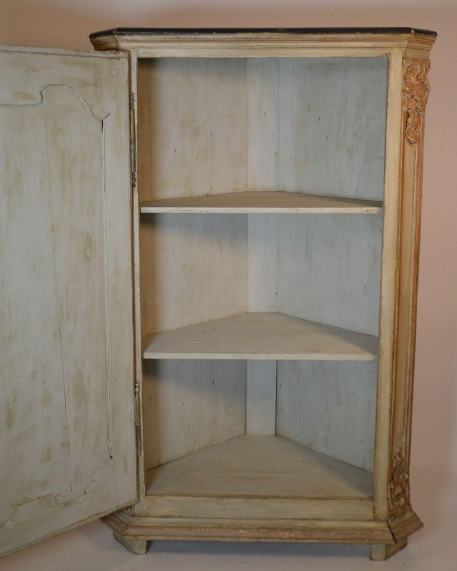 Regence Corner Cabinet