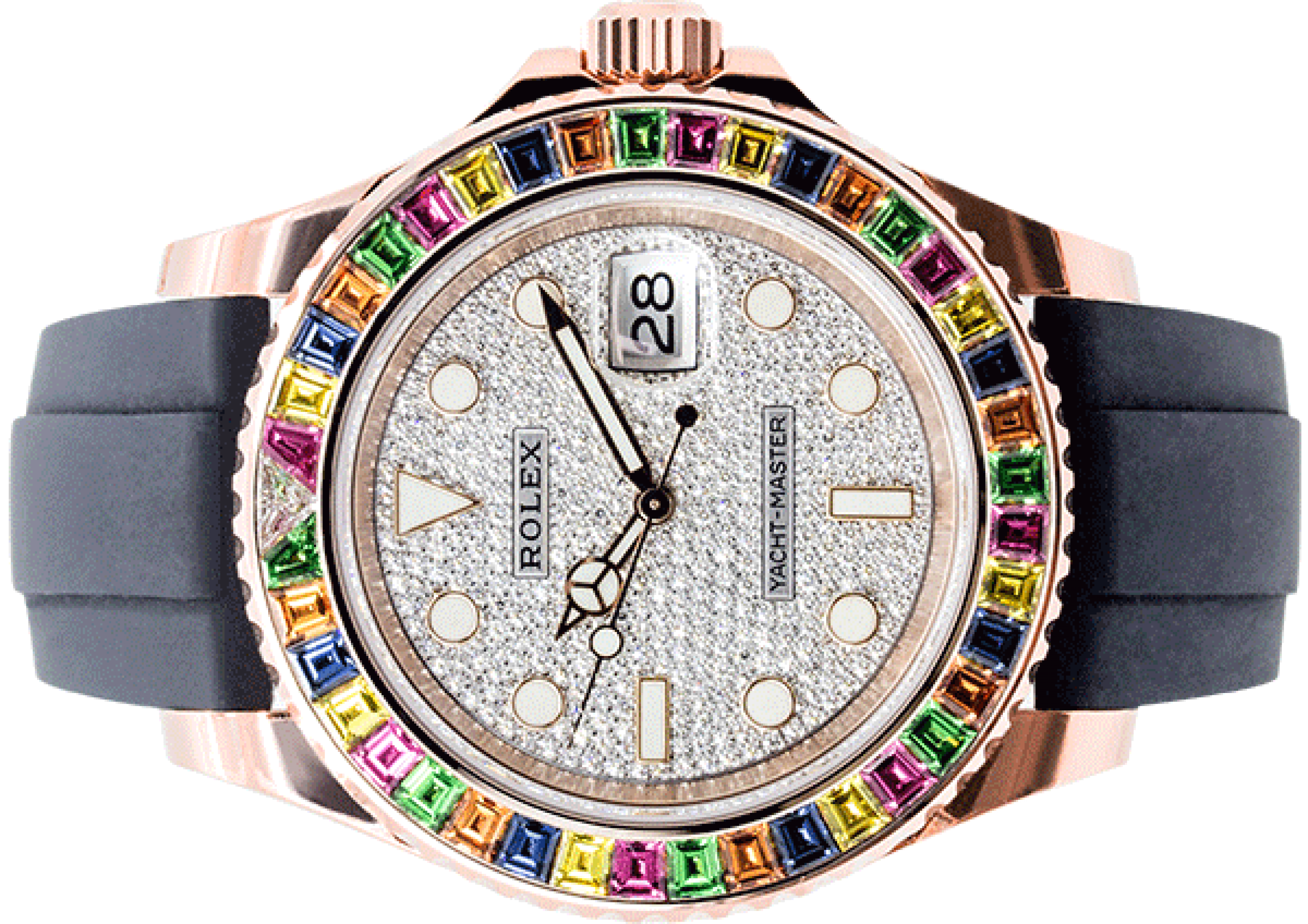 "Rolex Oyster Perpetual Yacht-Master 40 ""Tutti Fruity"" 116695SATS"