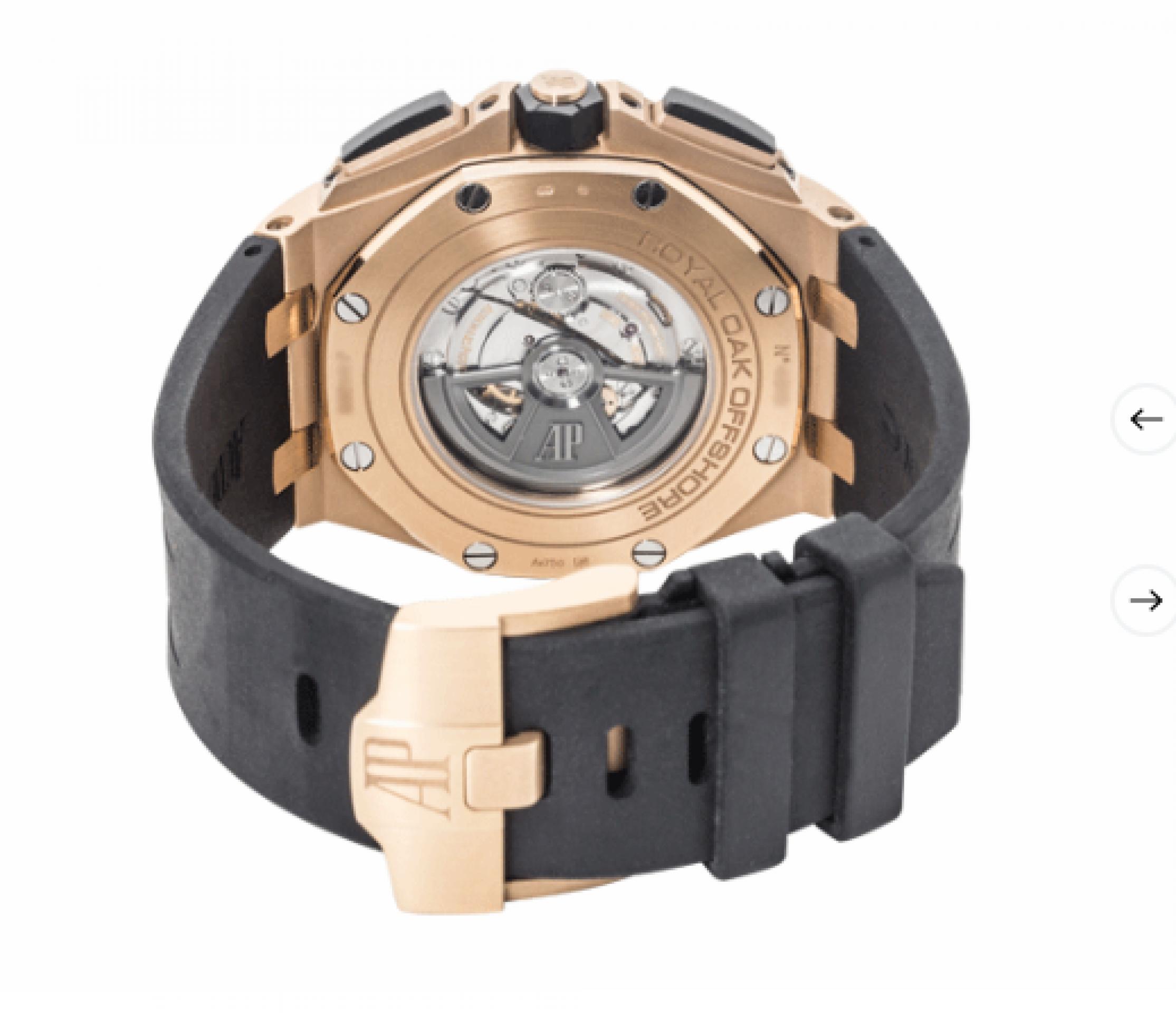 Audemars Piguet Royal Oak Offshore Chronograph Rose Gold Ceramic