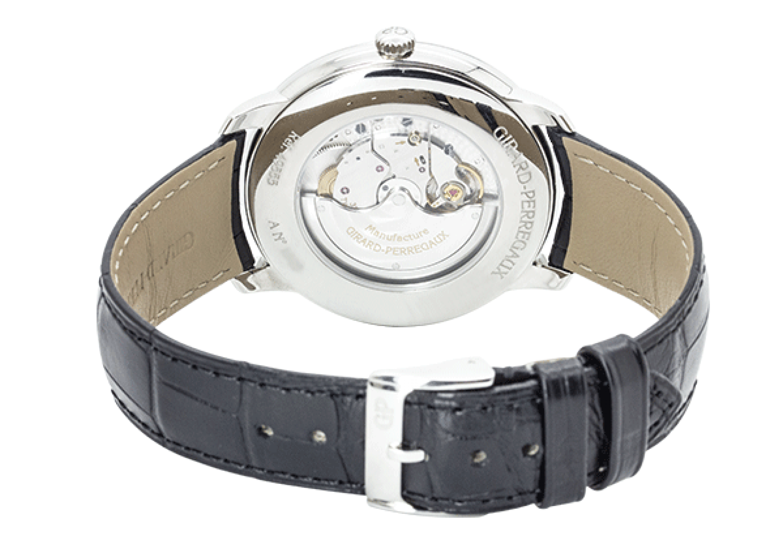 Girard Perregaux 1966 Silver Dial Automatic Stainless Steel