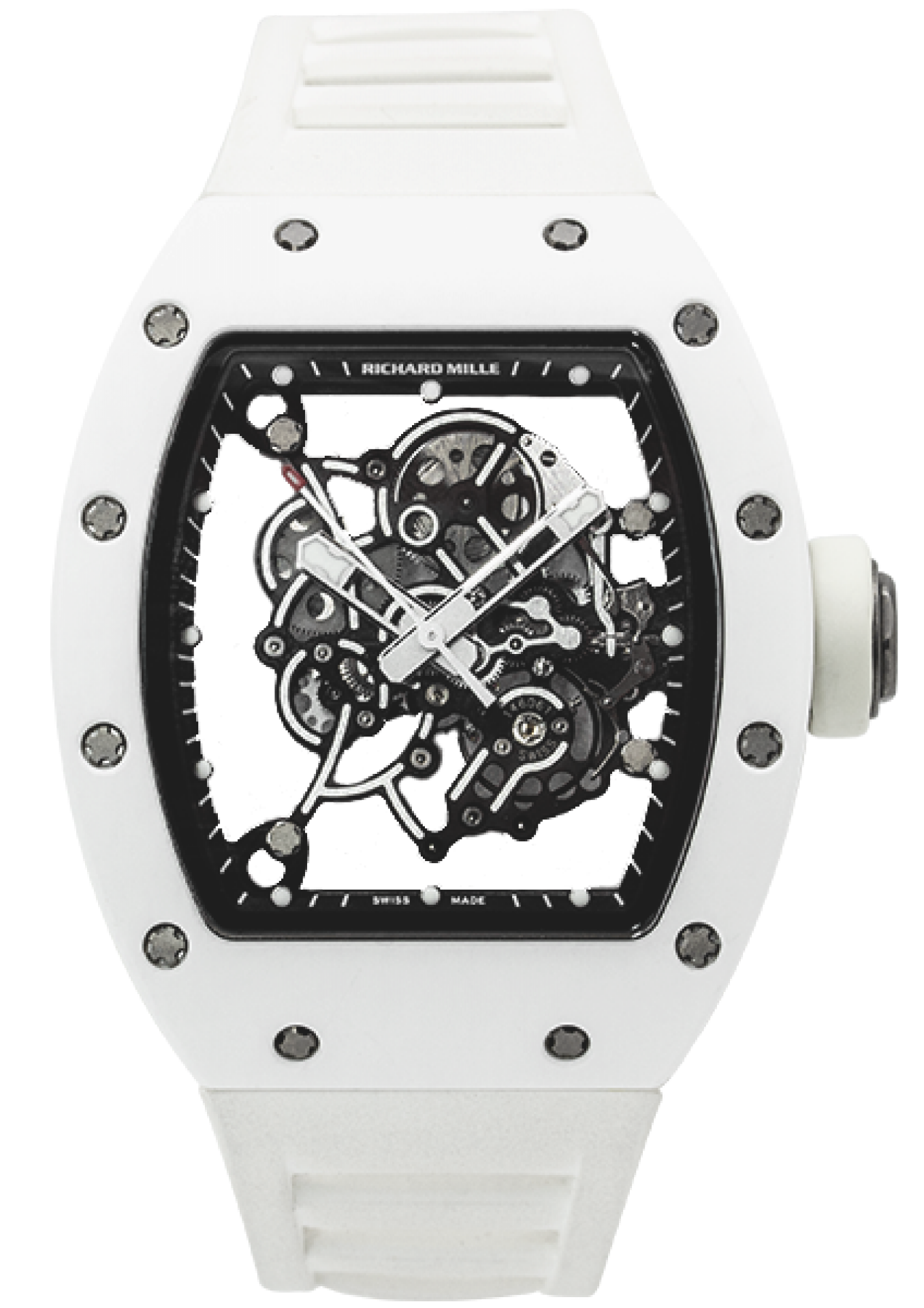 "Richard Mille RM 055 ""Bubba Watson"" White Edition AM Ti"
