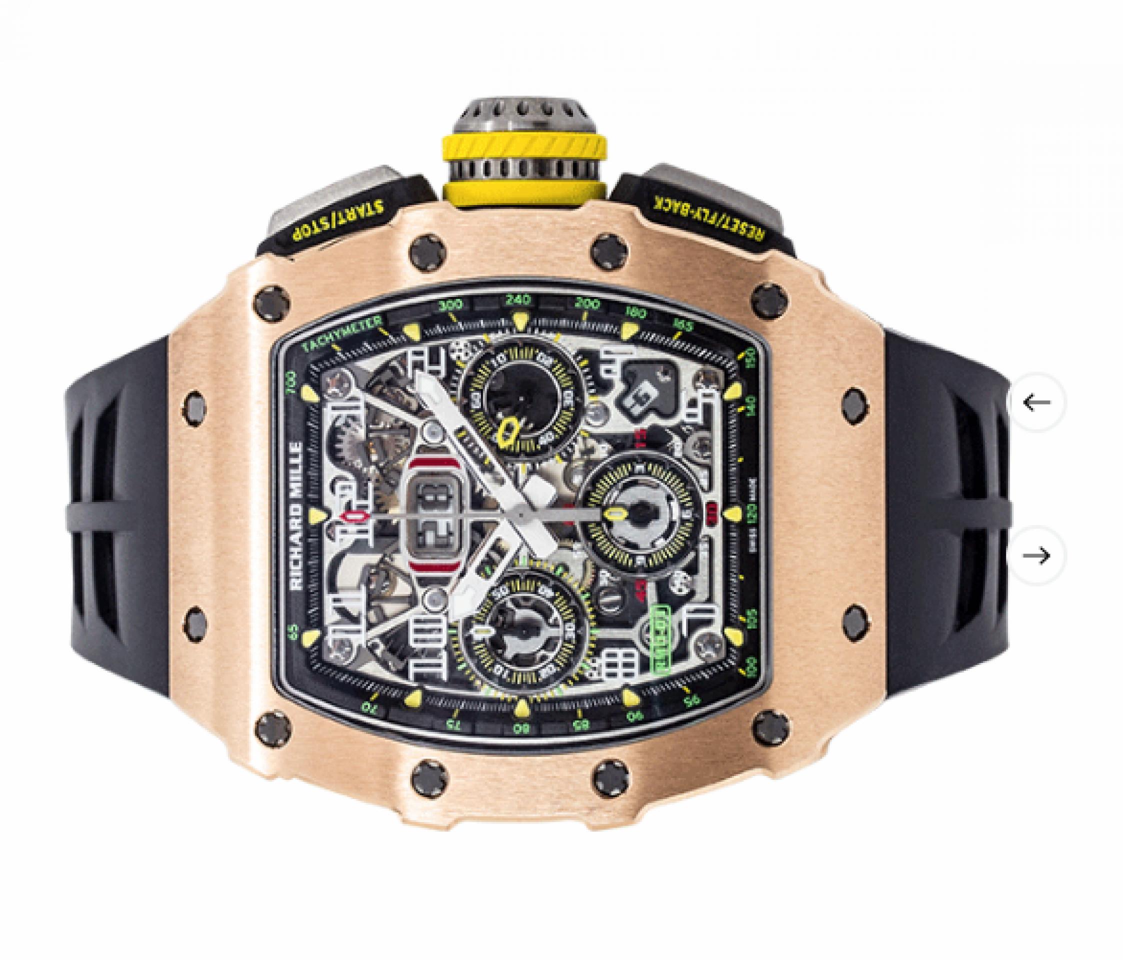 Richard Mille RM 11-03 Felipe Massa Flyback Chronograph Rose Gold & Titanium