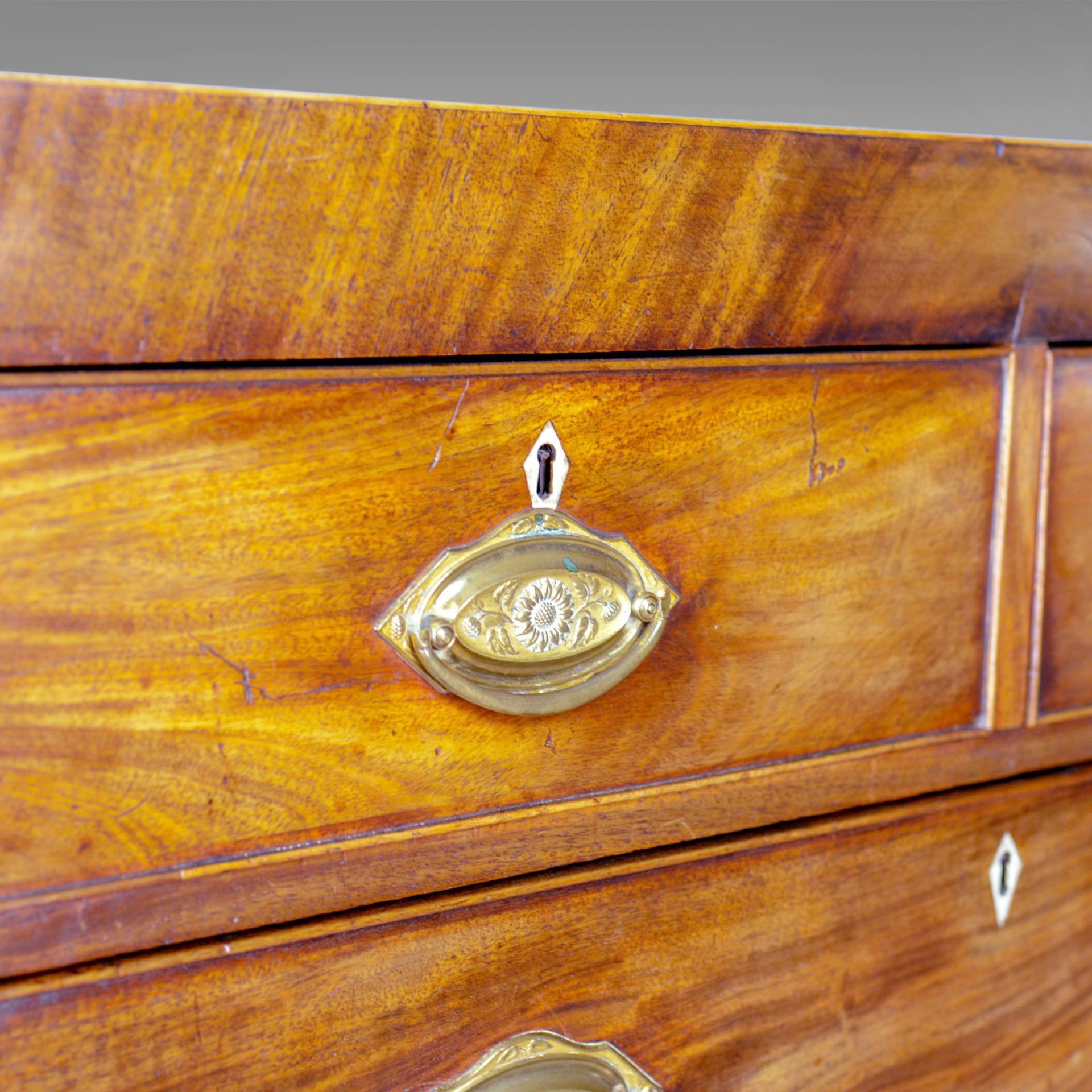 Antique Chest of Drawers, Manner of Sheraton, English, Georgian, Circa 1780