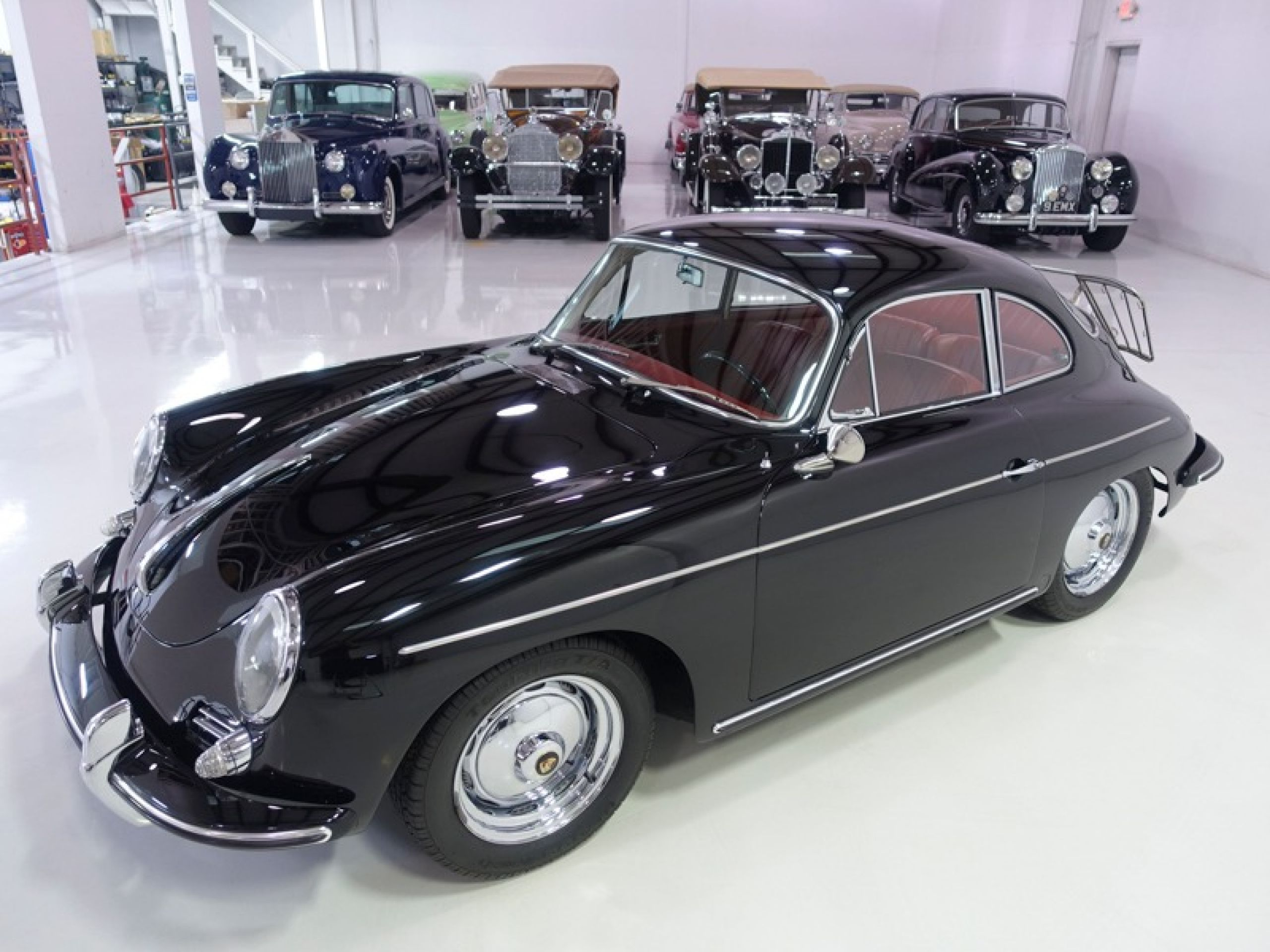 1963 Porsche 356B Super Coupe by Karmann