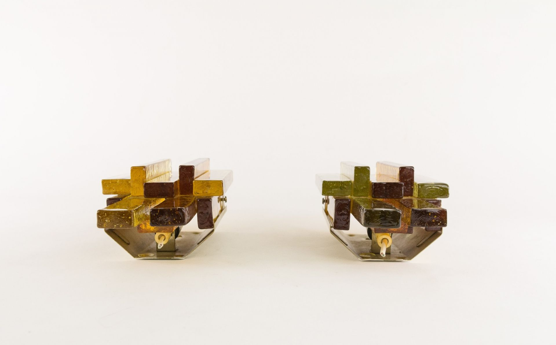 Pair of wall lamps designed by Svend Aage Holm Sørensen, 1960s