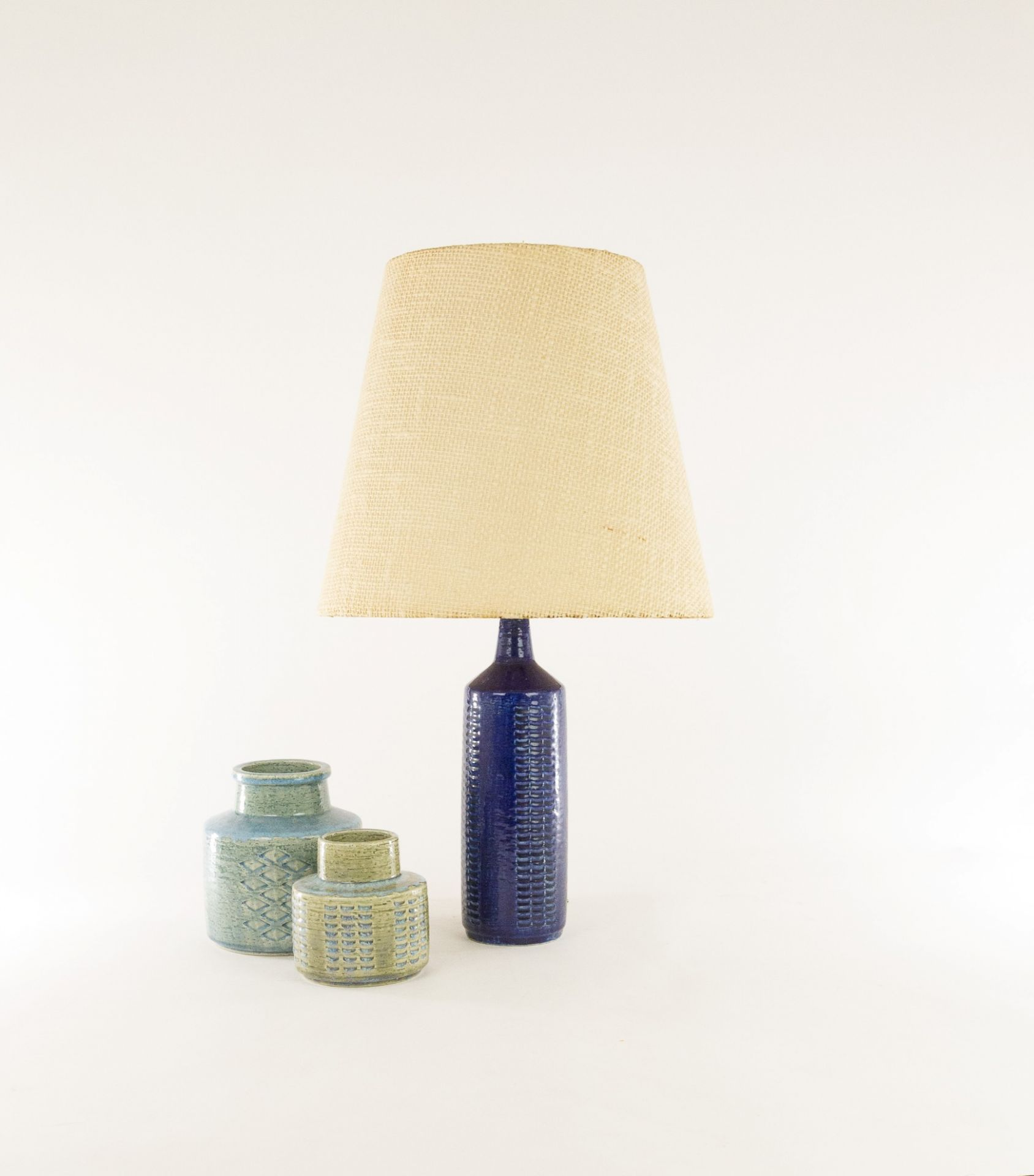 Collection Palshus table lamps model DL/27 by Annelise and Per Linnemann-Schmidt