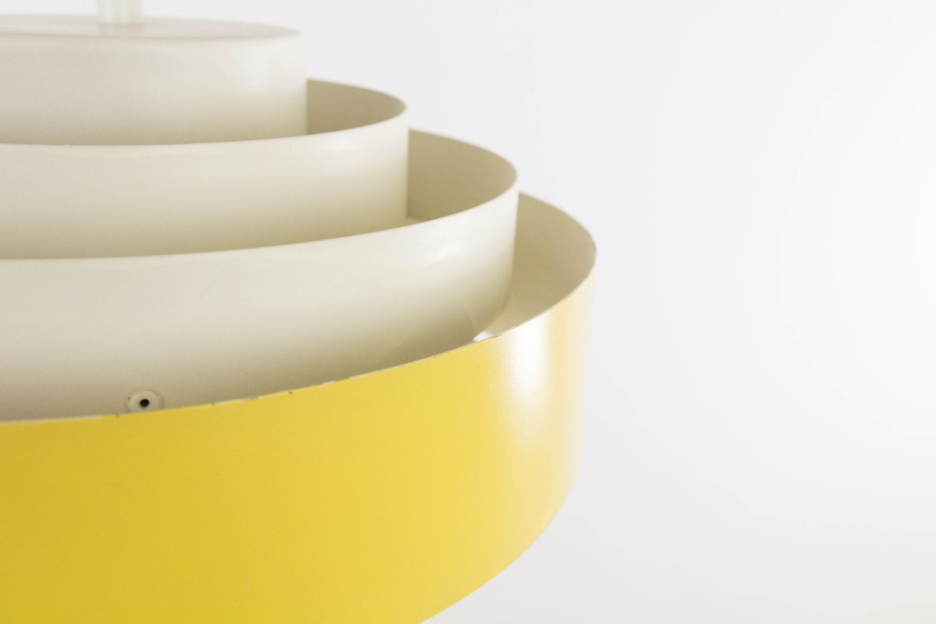 Yellow Ultra pendant by Jo Hammerborg for Fog & Mørup, 1960s