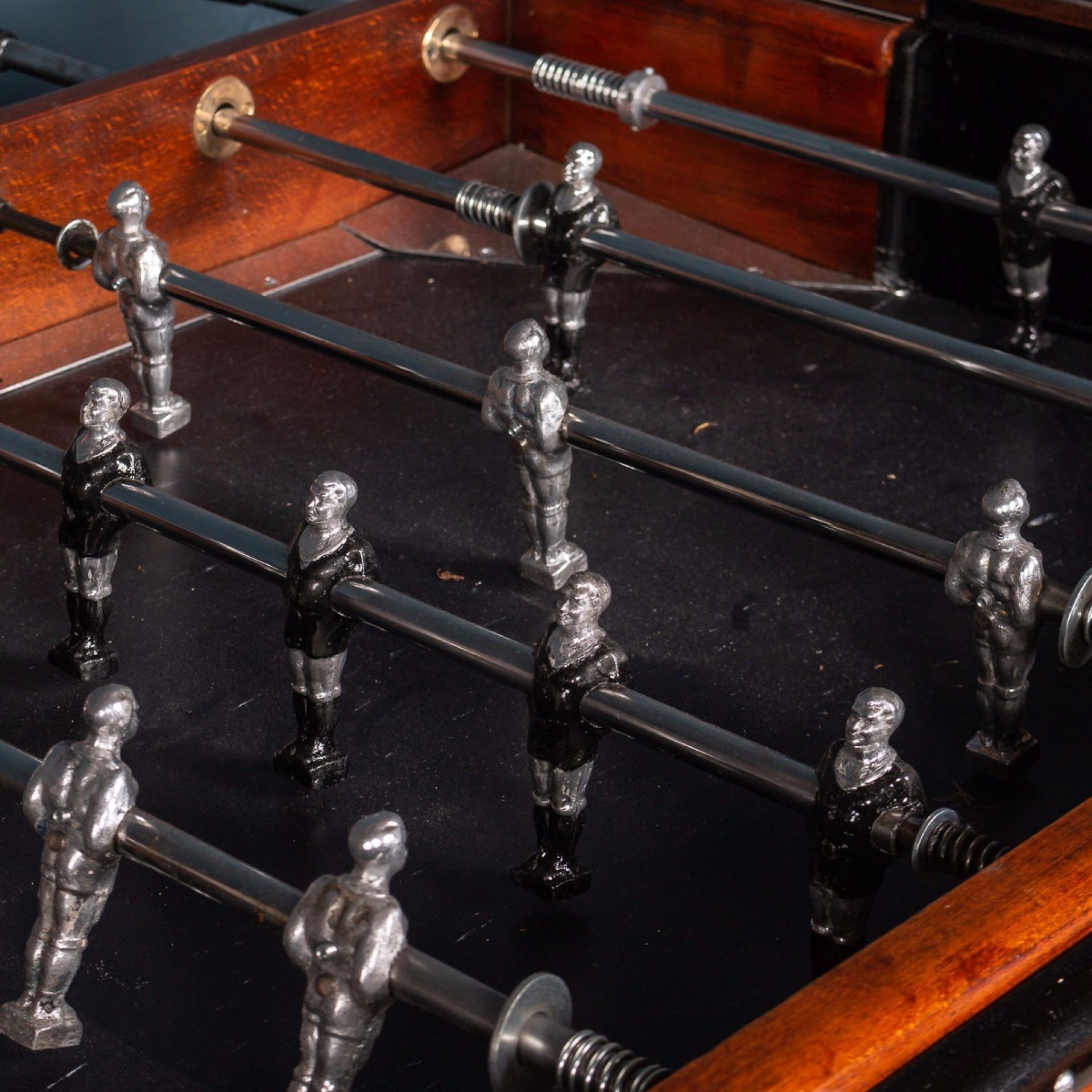 AMAZING MID 20TH CENTURY FRENCH TABLE FOOTBALL GAME