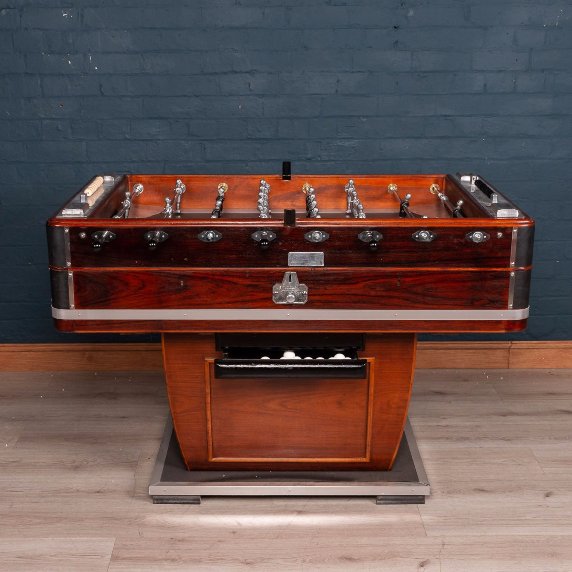 MID 20TH CENTURY FRENCH TABLE FOOTBALL GAME