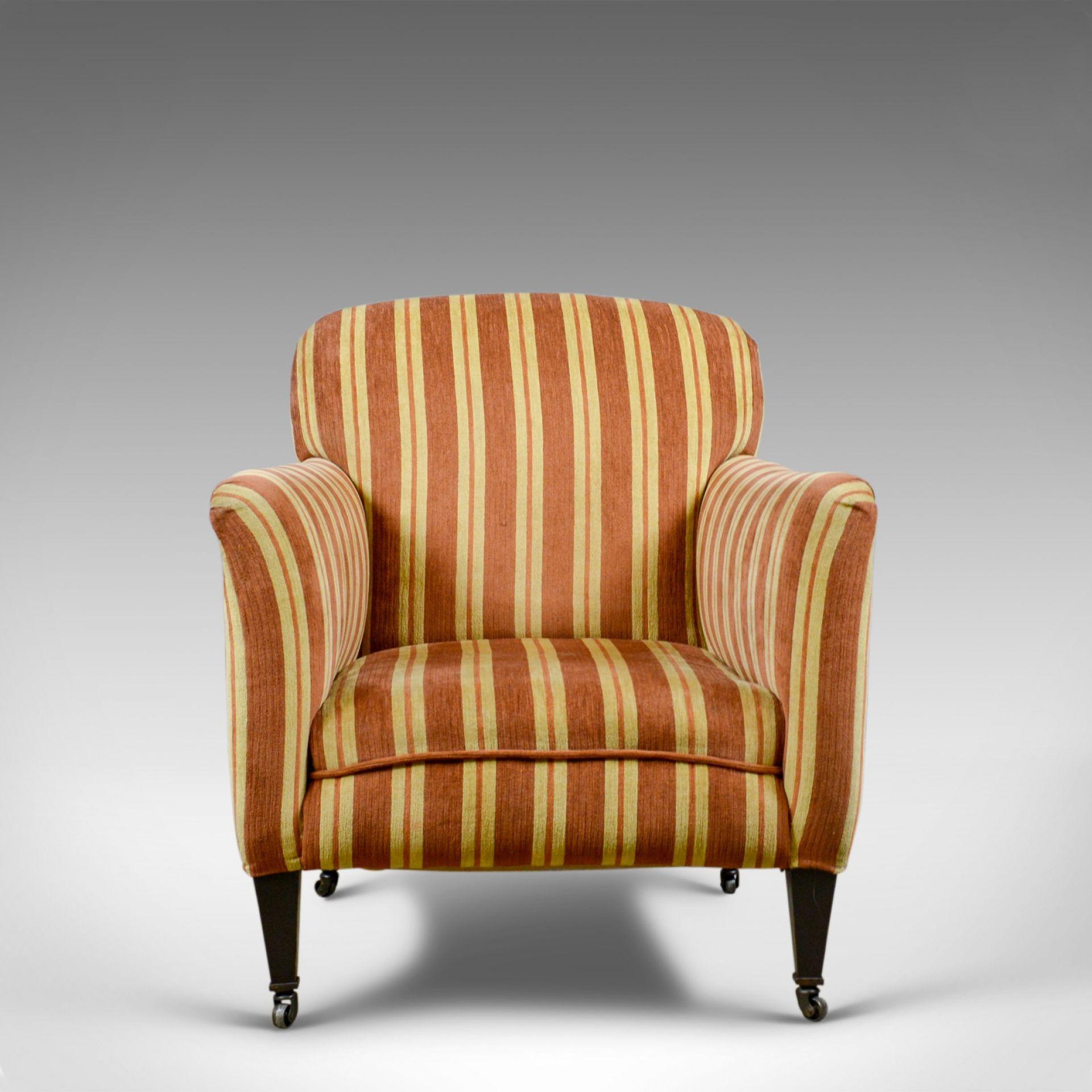 Antique Armchair, English, Edwardian Club Chair, Early 20th Century, Circa 1910