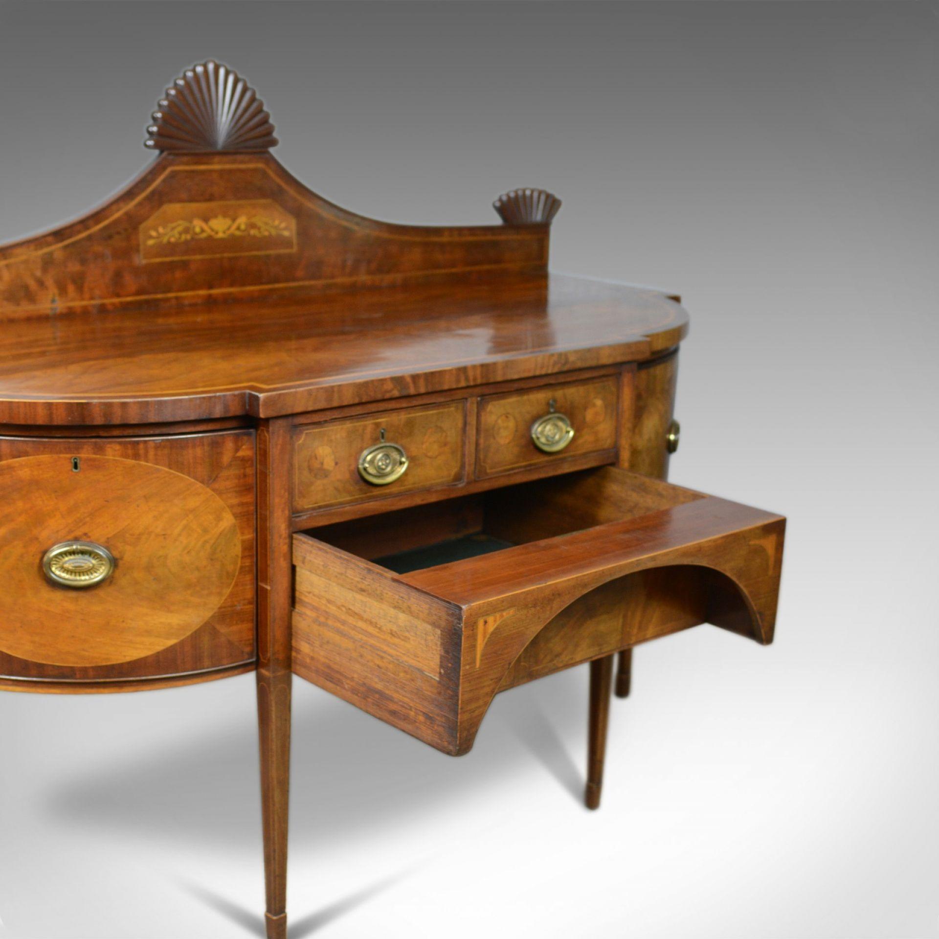 Large Antique Sideboard, English, Late Georgian, Server, Mahogany, Circa 1800