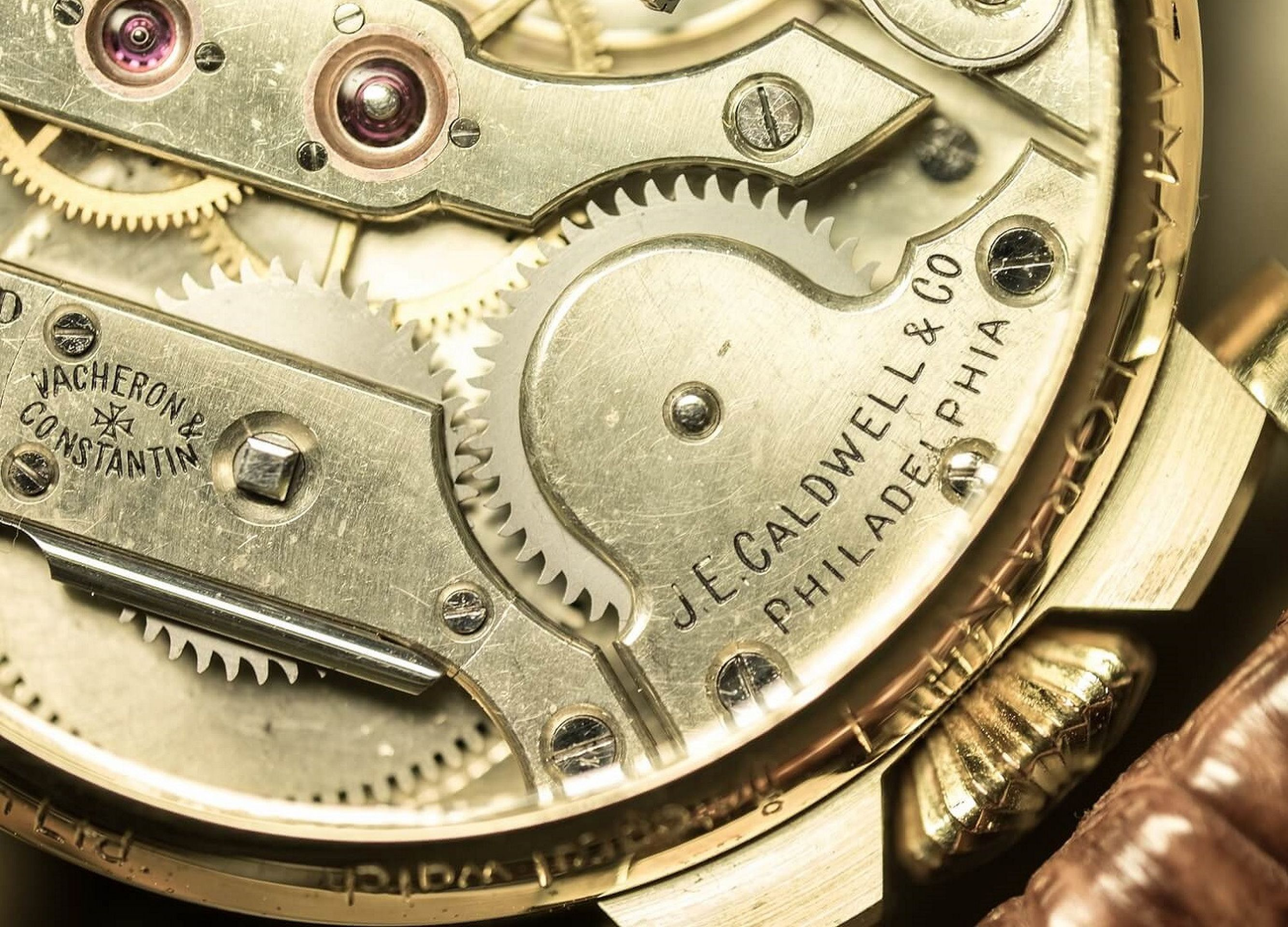 TAMAS  L'ORANT Movement No: 317837 - Mechanism: Vacheron Constantin ~1907~