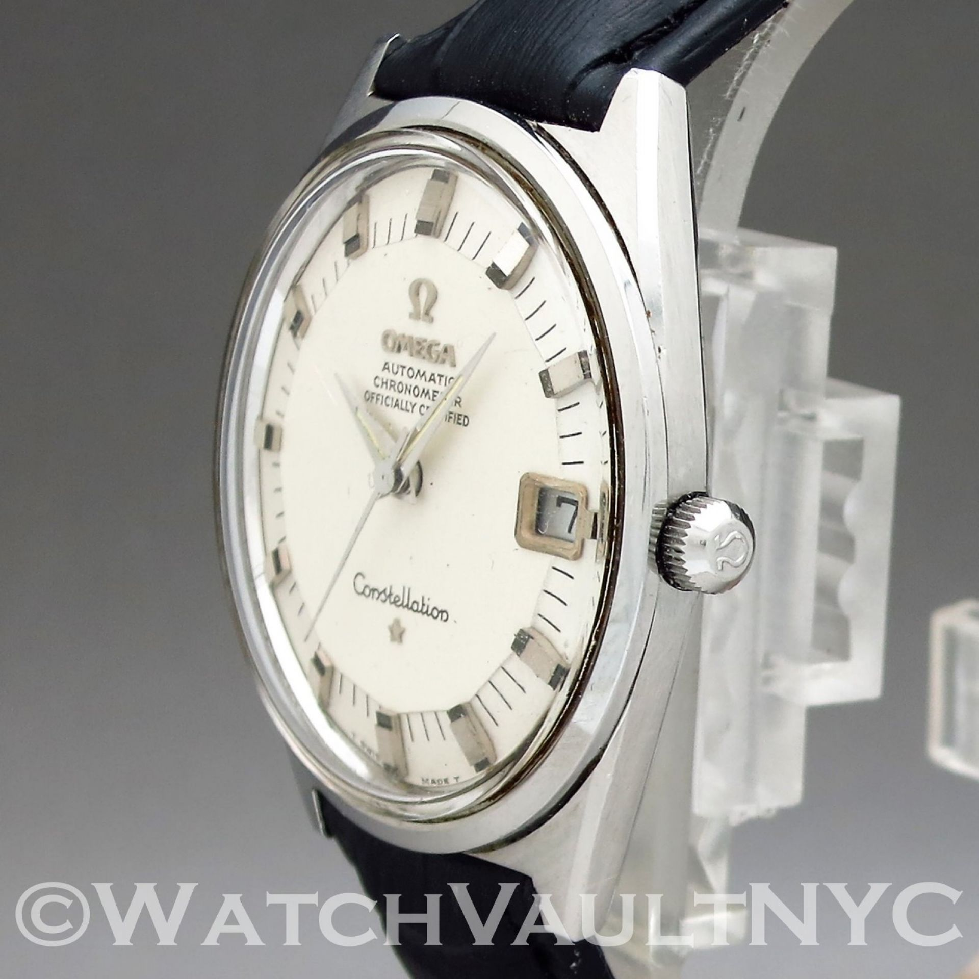 Omega Constellation 168.025 Pie Pan 1960s Vintage 34mm Auto RF306