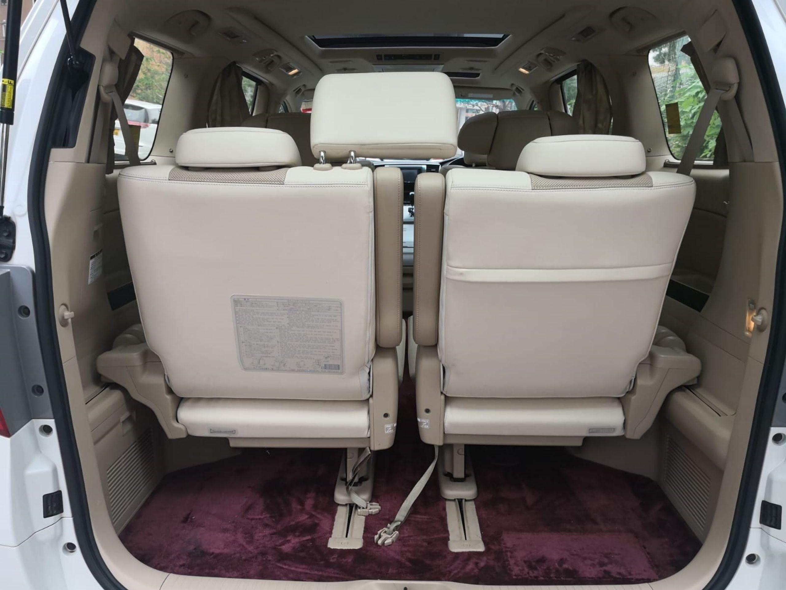 2013 Toyota Alphard 3.5 First Class