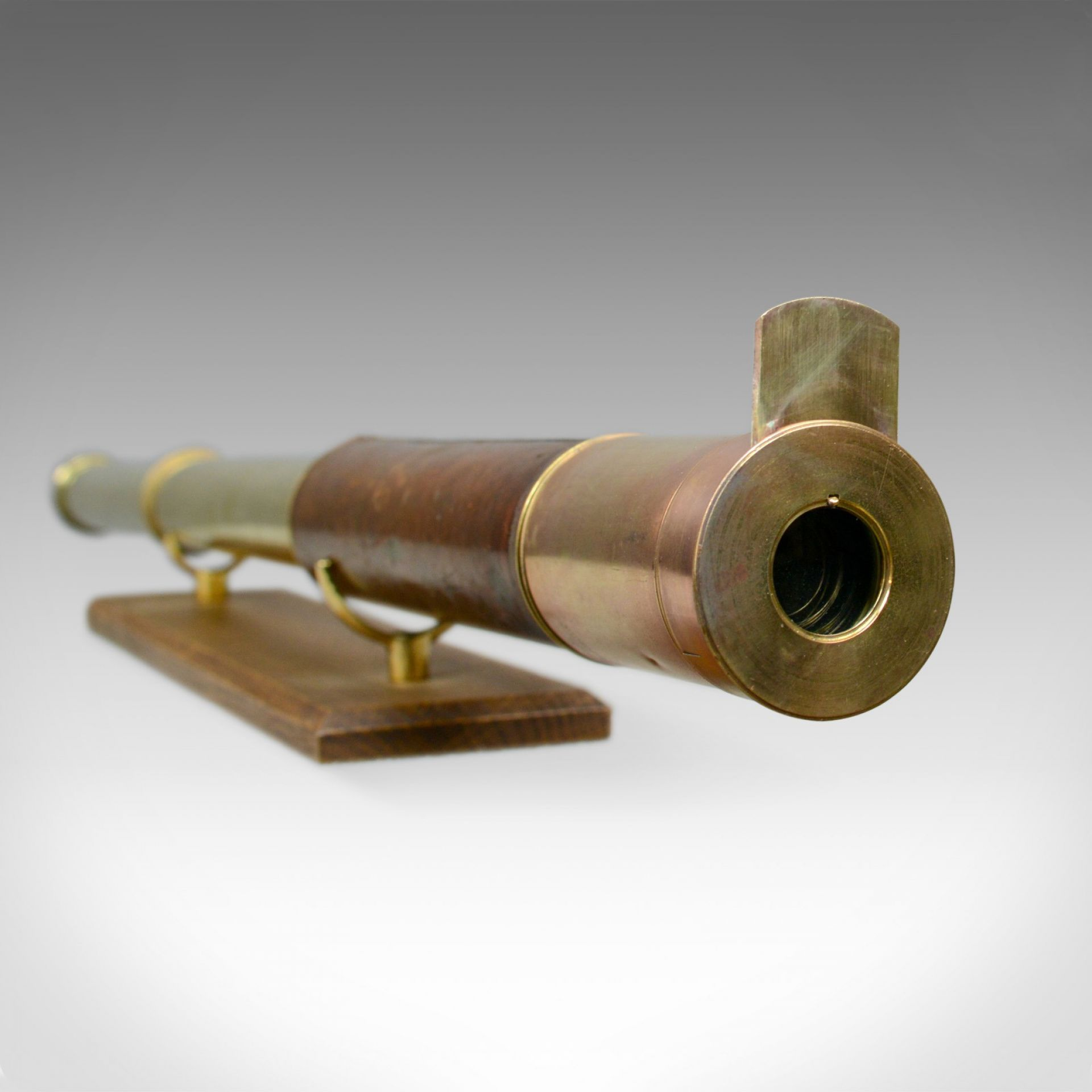 Antique Telescope, Two Draw, Refractor, Stampa and Son, London, Circa 1810