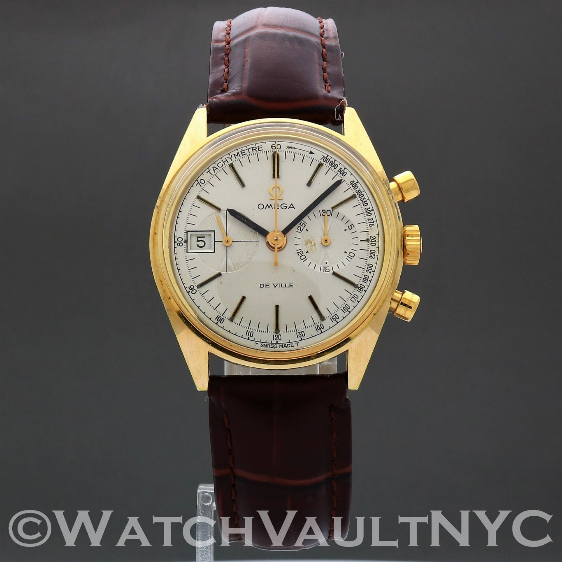Omega Deville Chrongraph 146.017 1969 Vintage 35mm Manual RG316