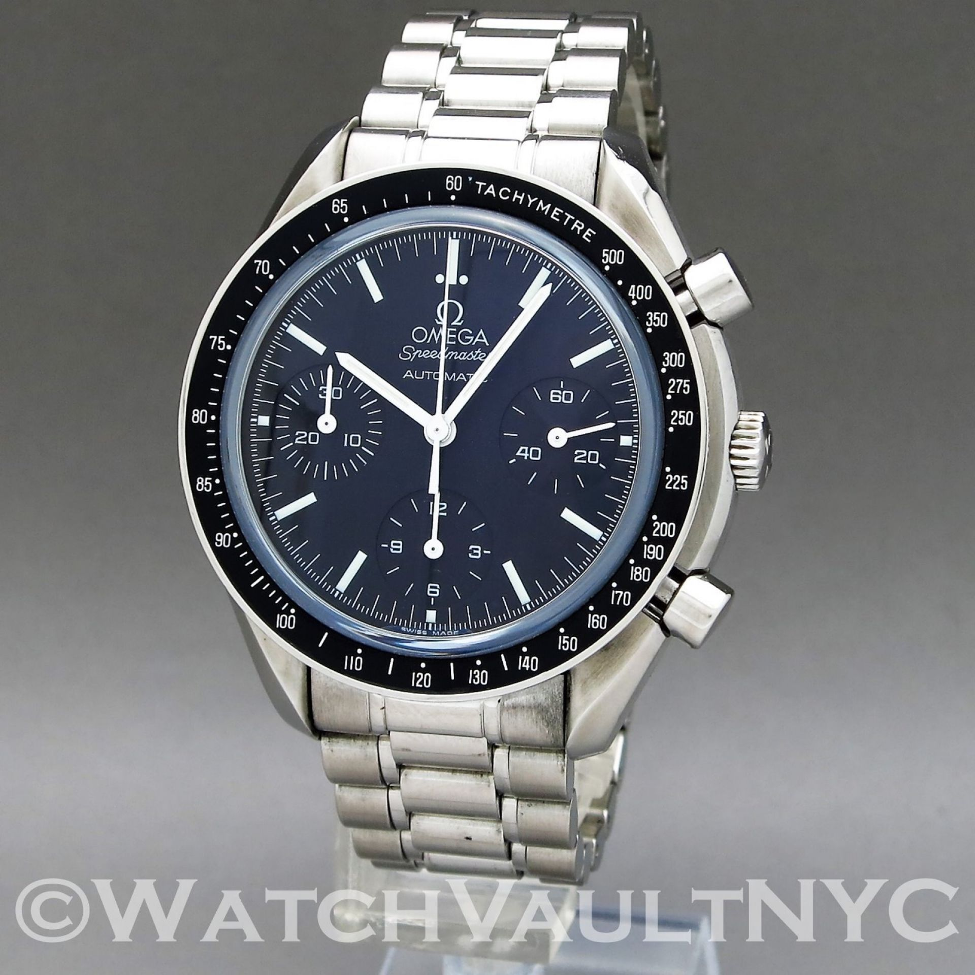 Omega Speedmaster Reduced 3539.50 Sapphire Crystal 39mm Auto RG317