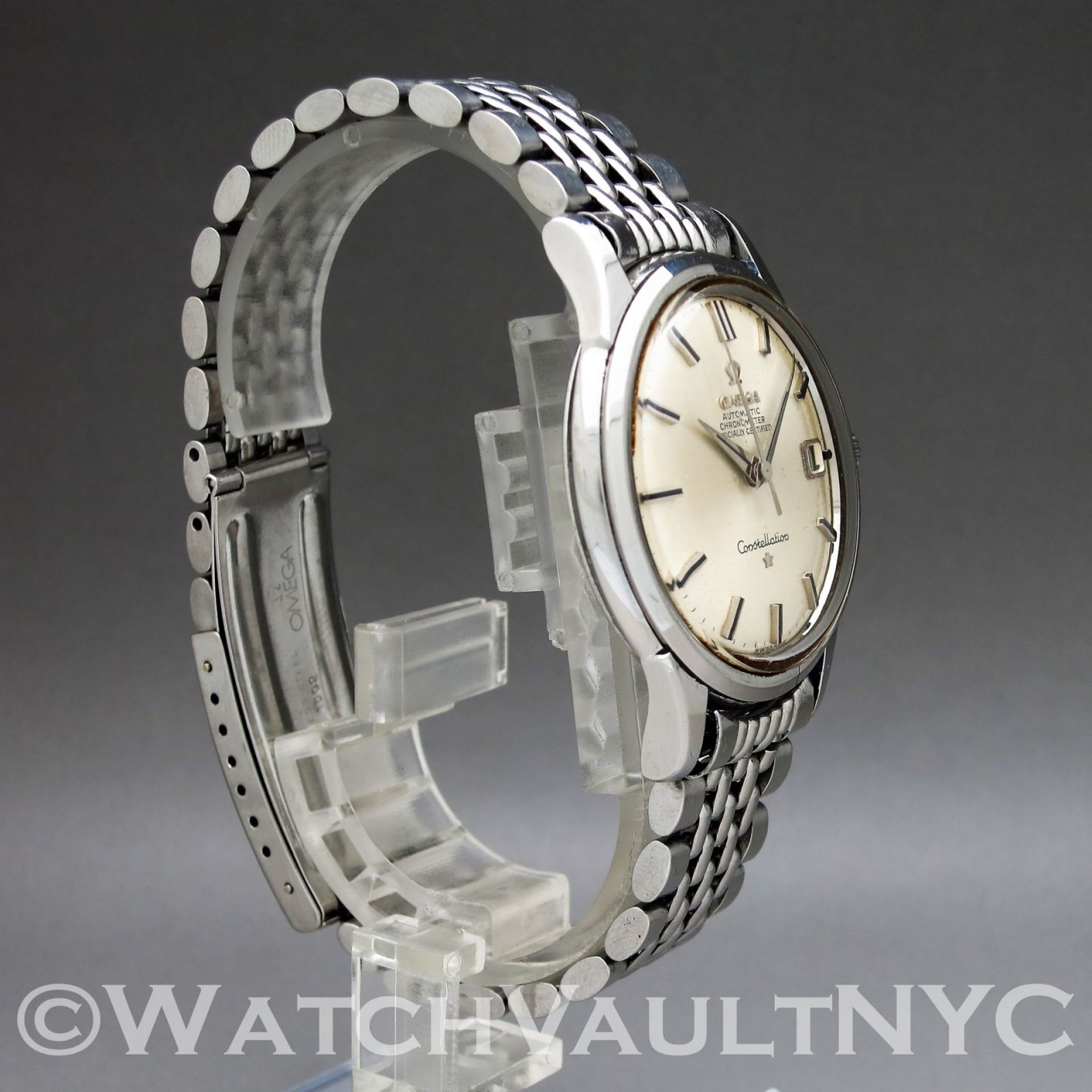Omega Constellation 168.001 Jumbo 1963 Vintage 37mm Auto RI212