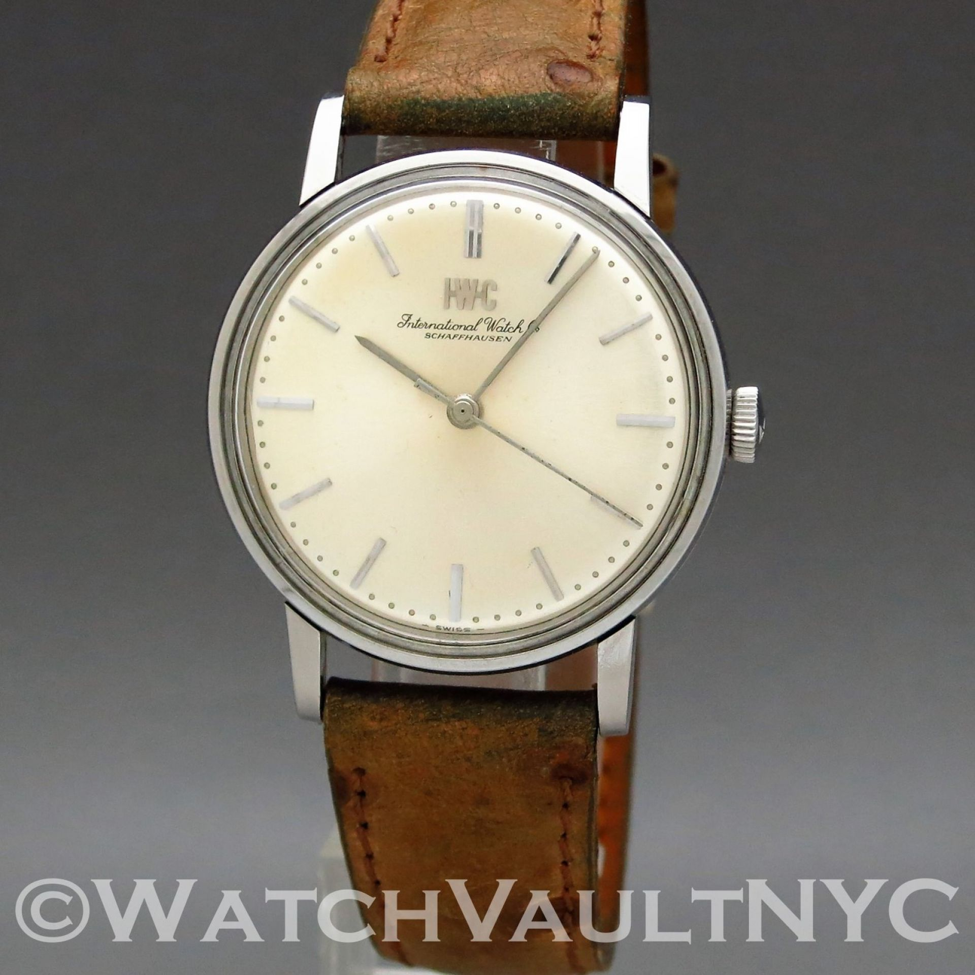 IWC Caliber 89 1214 1969 Vintage 34mm Manual RI214