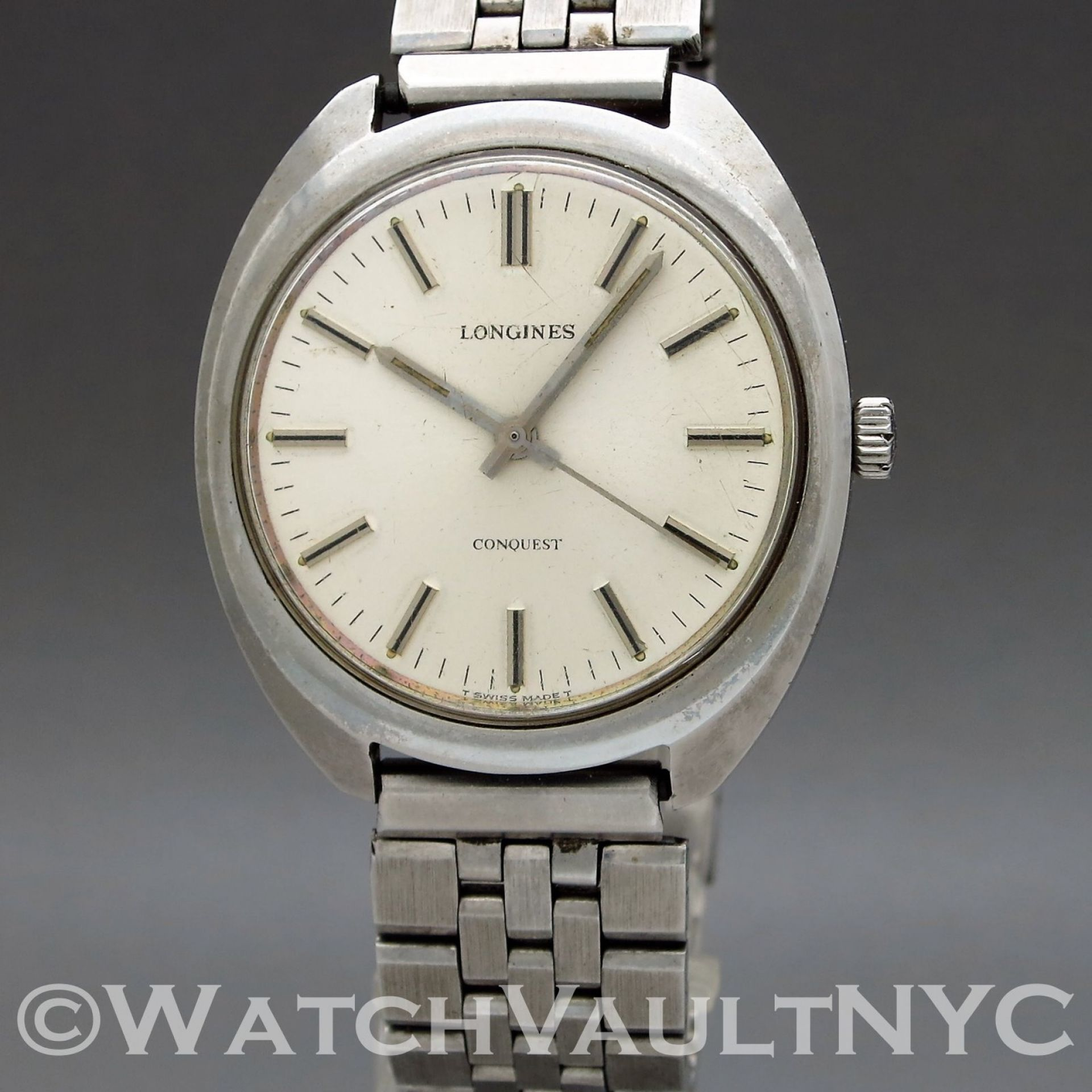 Longines Conquest 1500-4 1975 Vintage 36mm Manual RI302