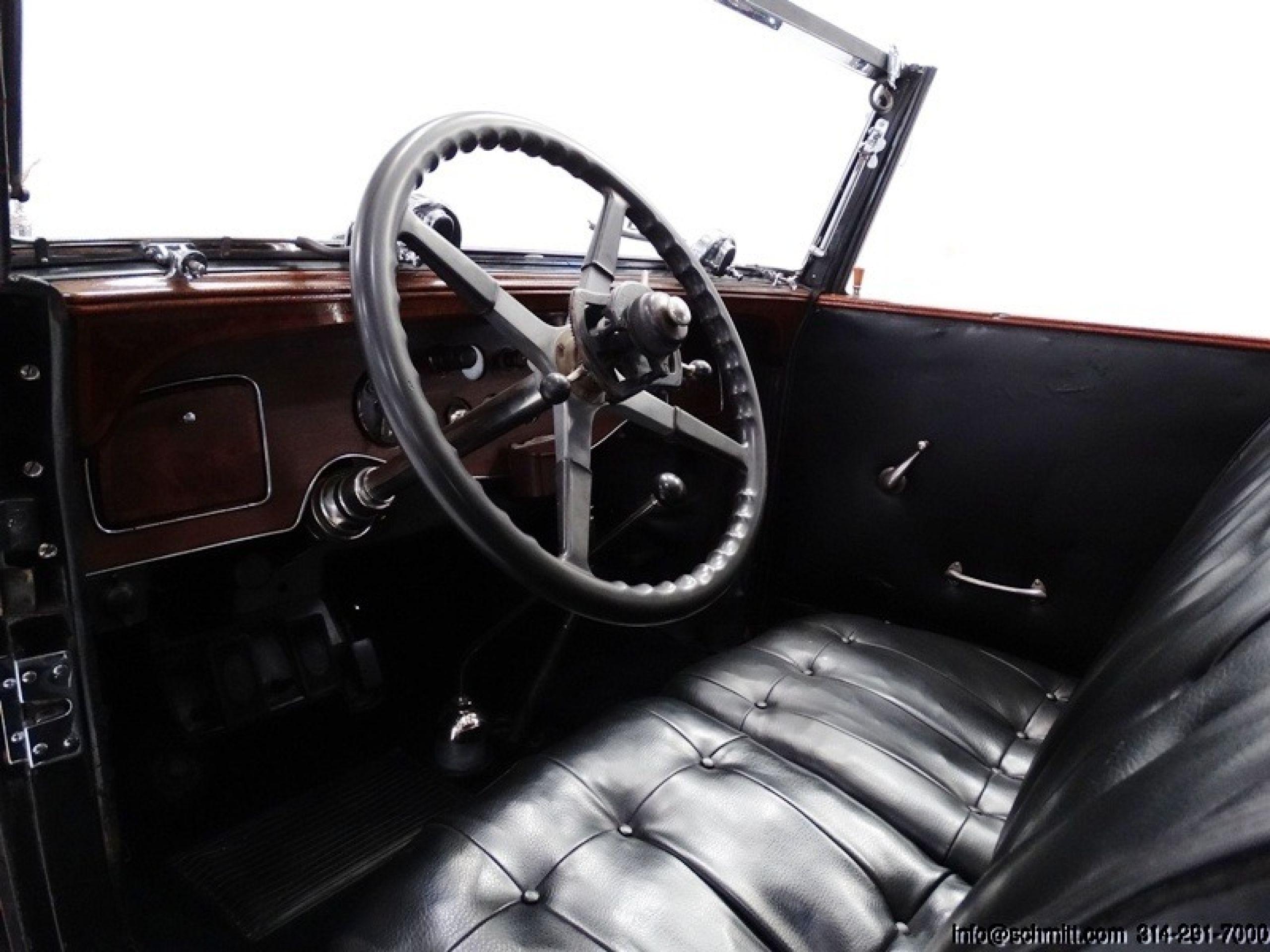 1928 Rolls-Royce Phantom I Springfield St. Martin Brewster Town Car
