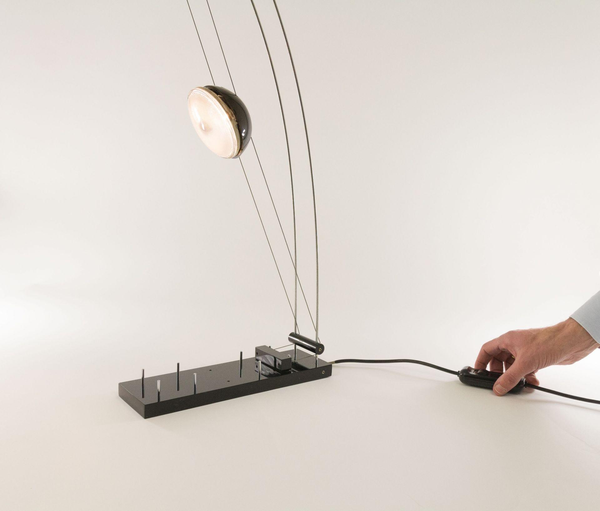 Lighting sculpture 'Arco-nero' designed by Axel Meise forAML Licht + Design, 19