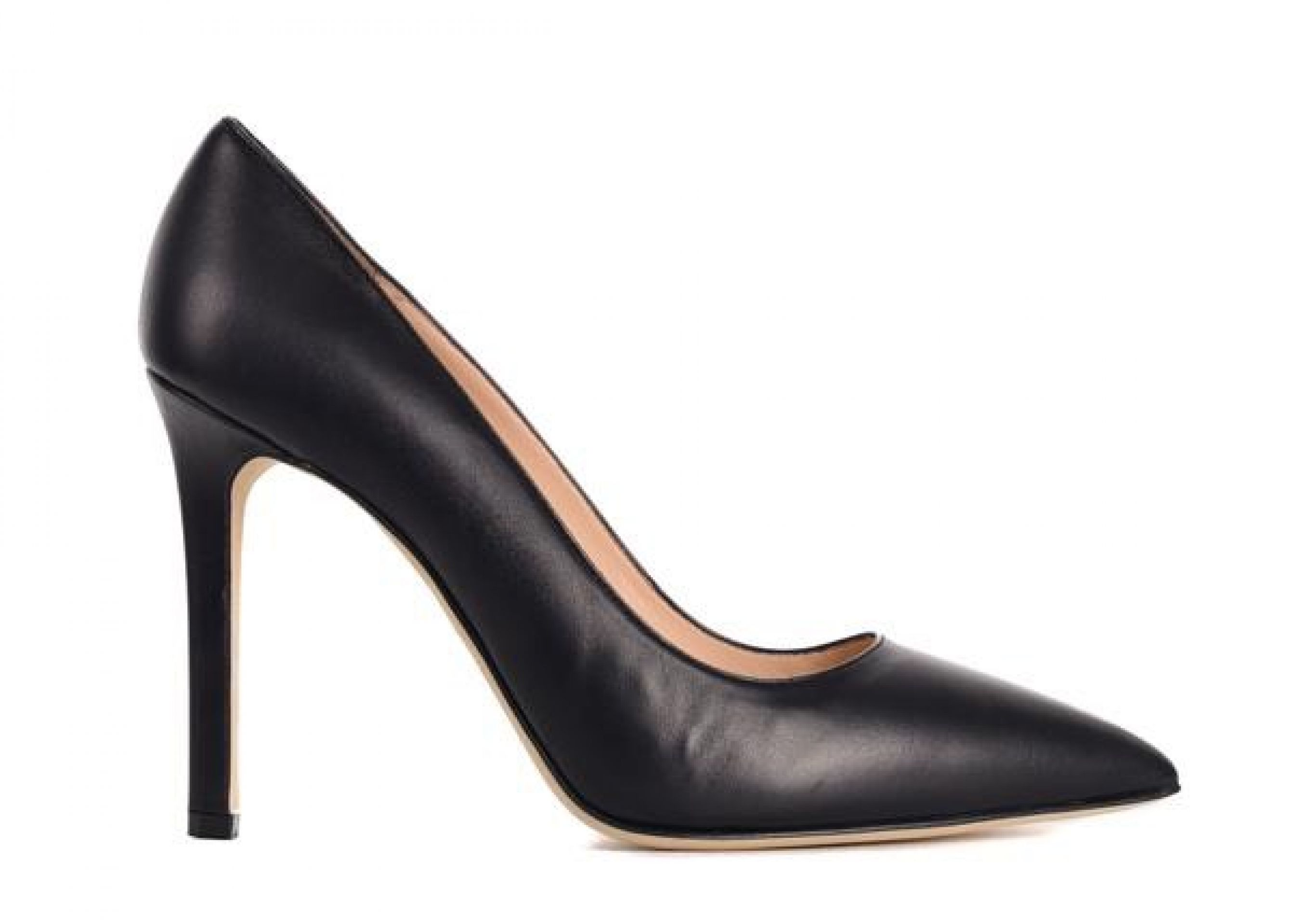 MANOLO BLAHNIK WOMENS BB BLACK LEATHER POINTED TOE PUMPS