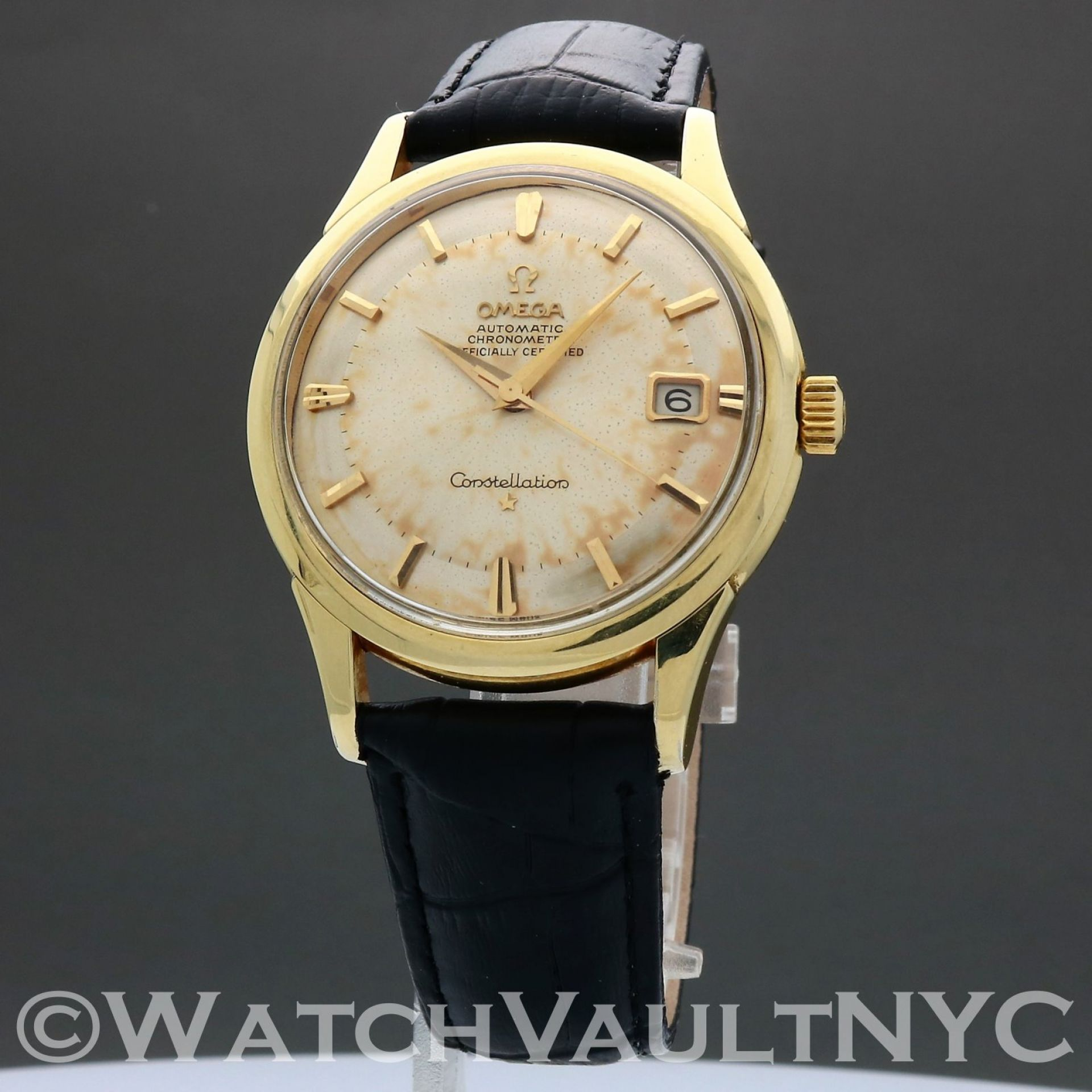 Omega Constellation ST168.001 Jumbo 1963 Vintage 37mm Auto RK307