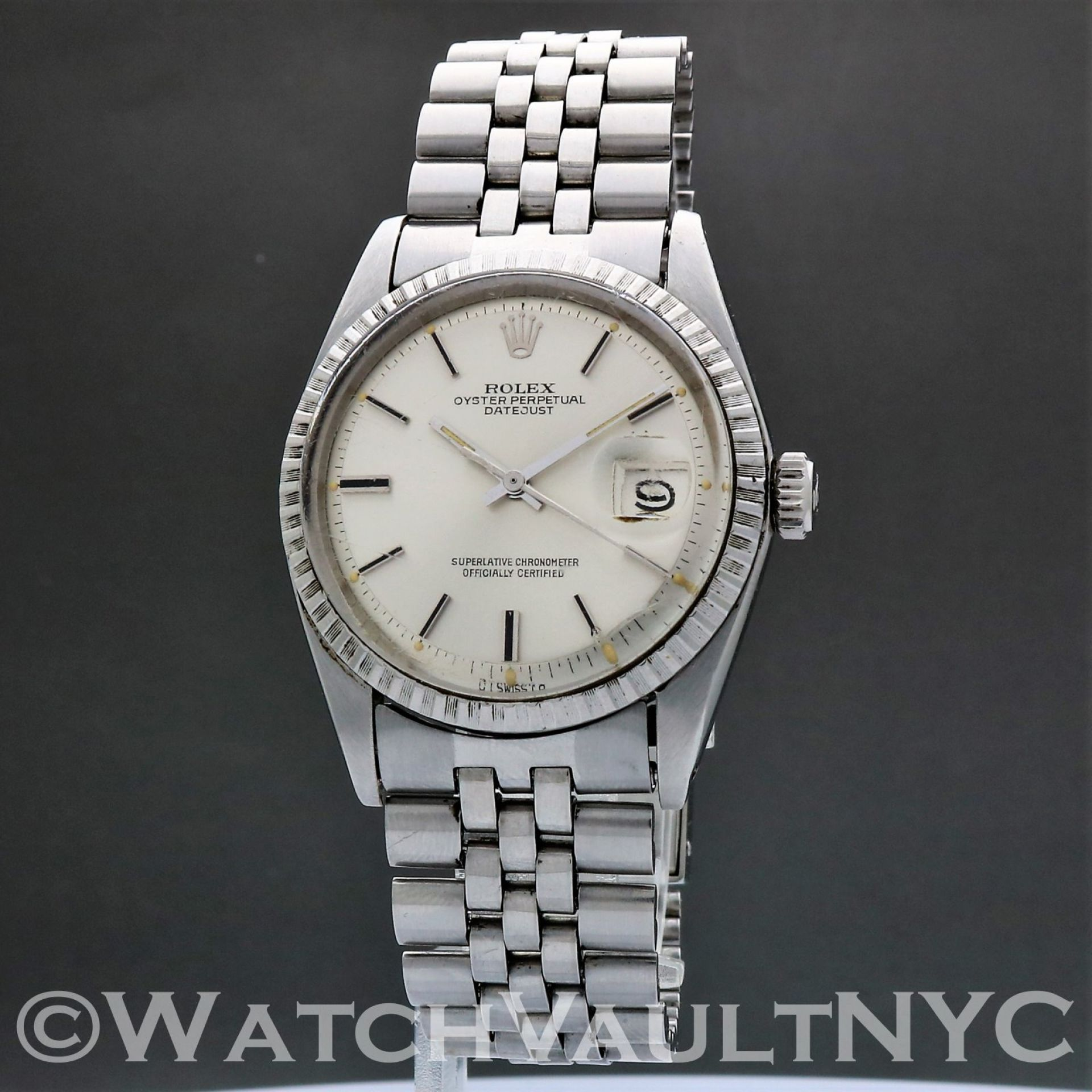 Rolex Oyster Perpetual Datejust 1603 Sigma Dial 1974 Vintage 36mm Auto RL306