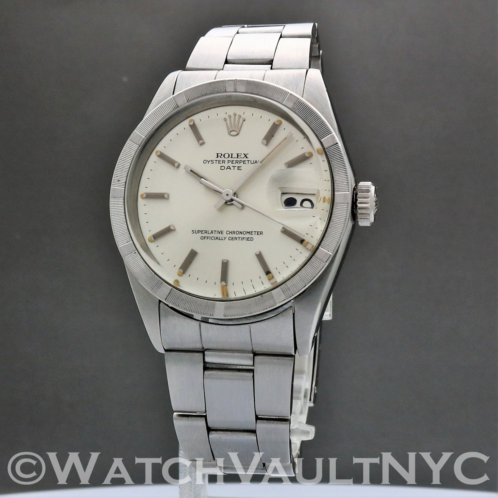 Rolex Oyster Perpetual Date 1501 1971 Vintage 34mm Auto RL501