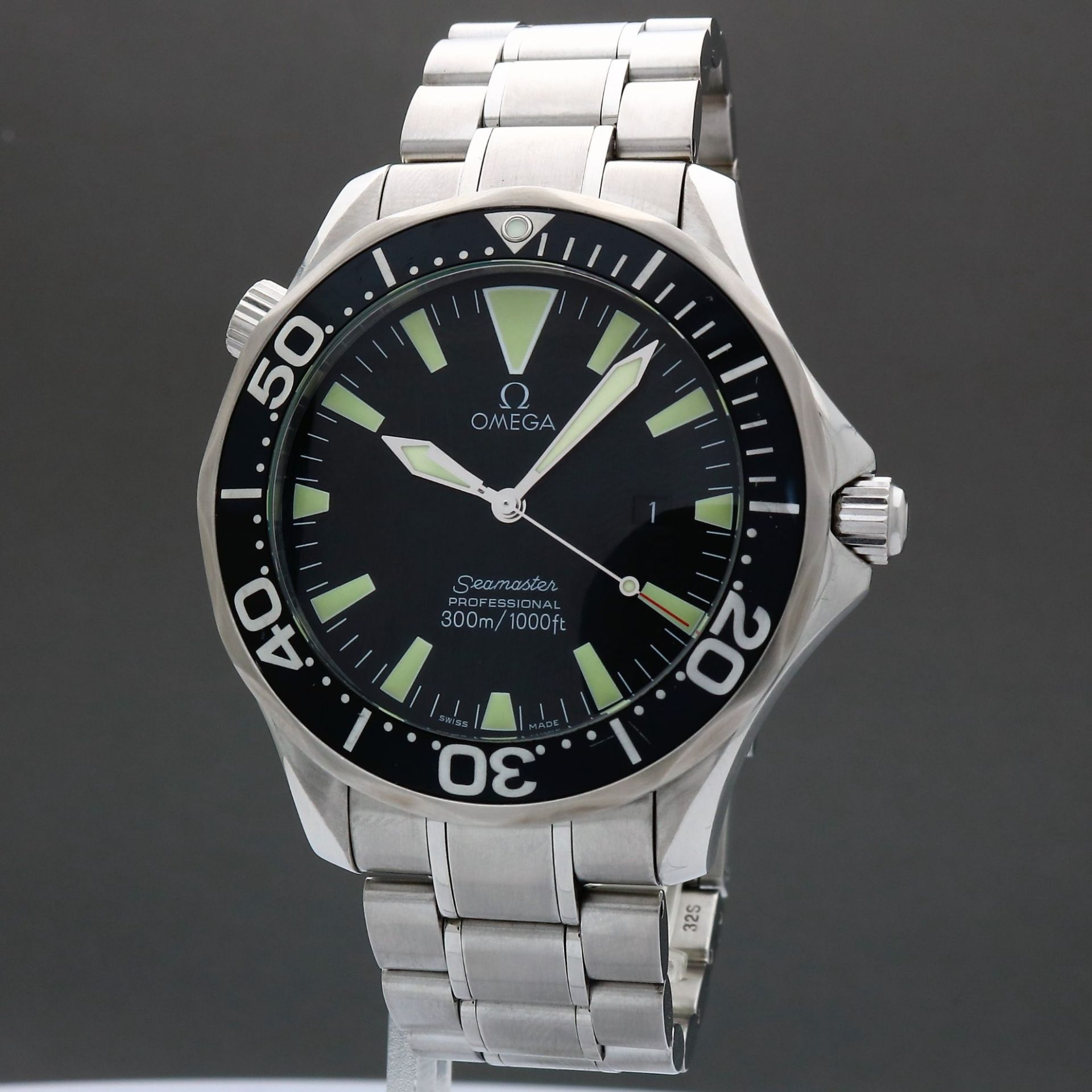 Omega Seamaster Professional 300M 2264.50 Sword Hands 41mm Quartz SA201
