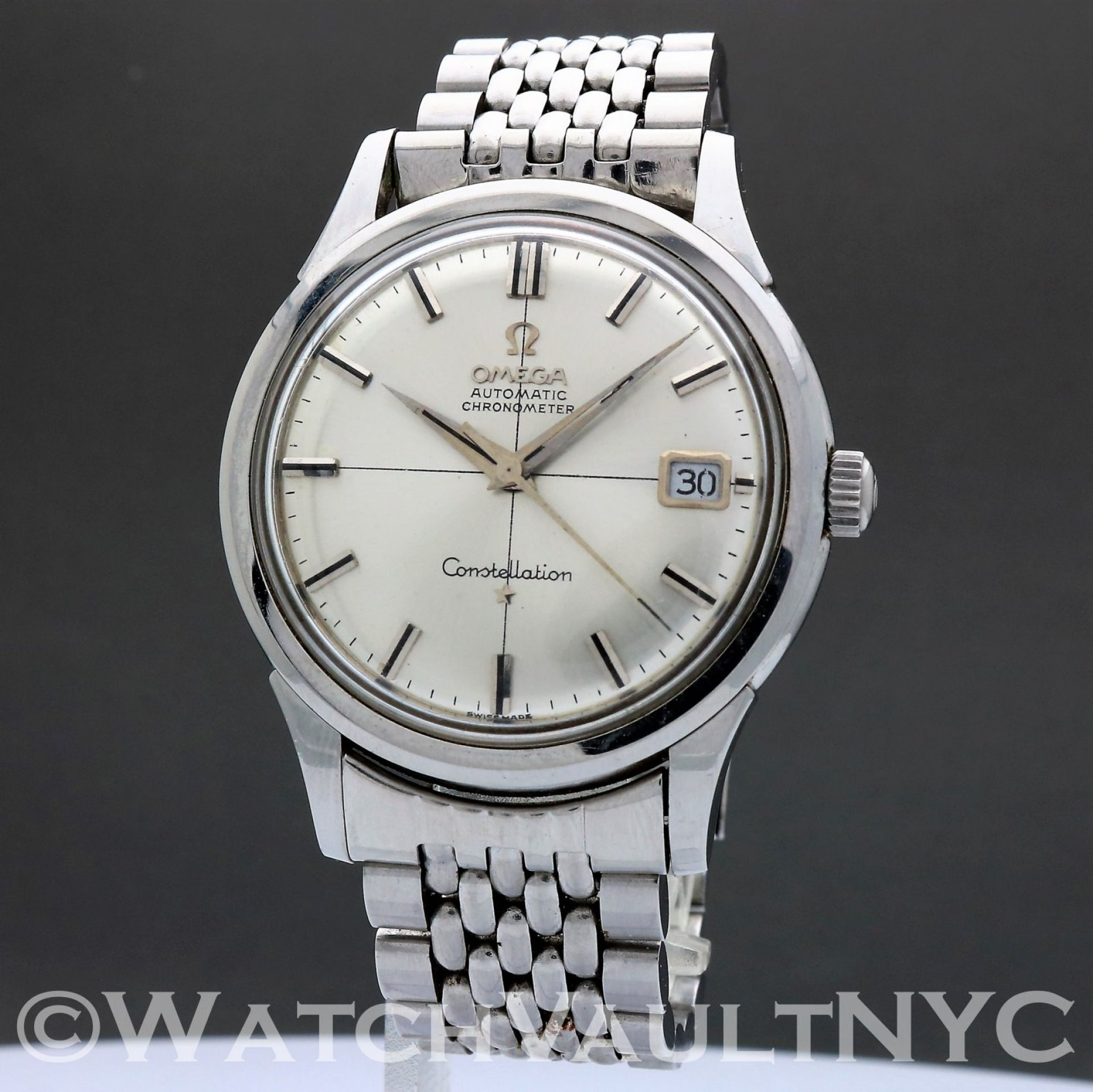 Omega Constellation 14777 1961 Vintage Jumbo 37mm Auto 402