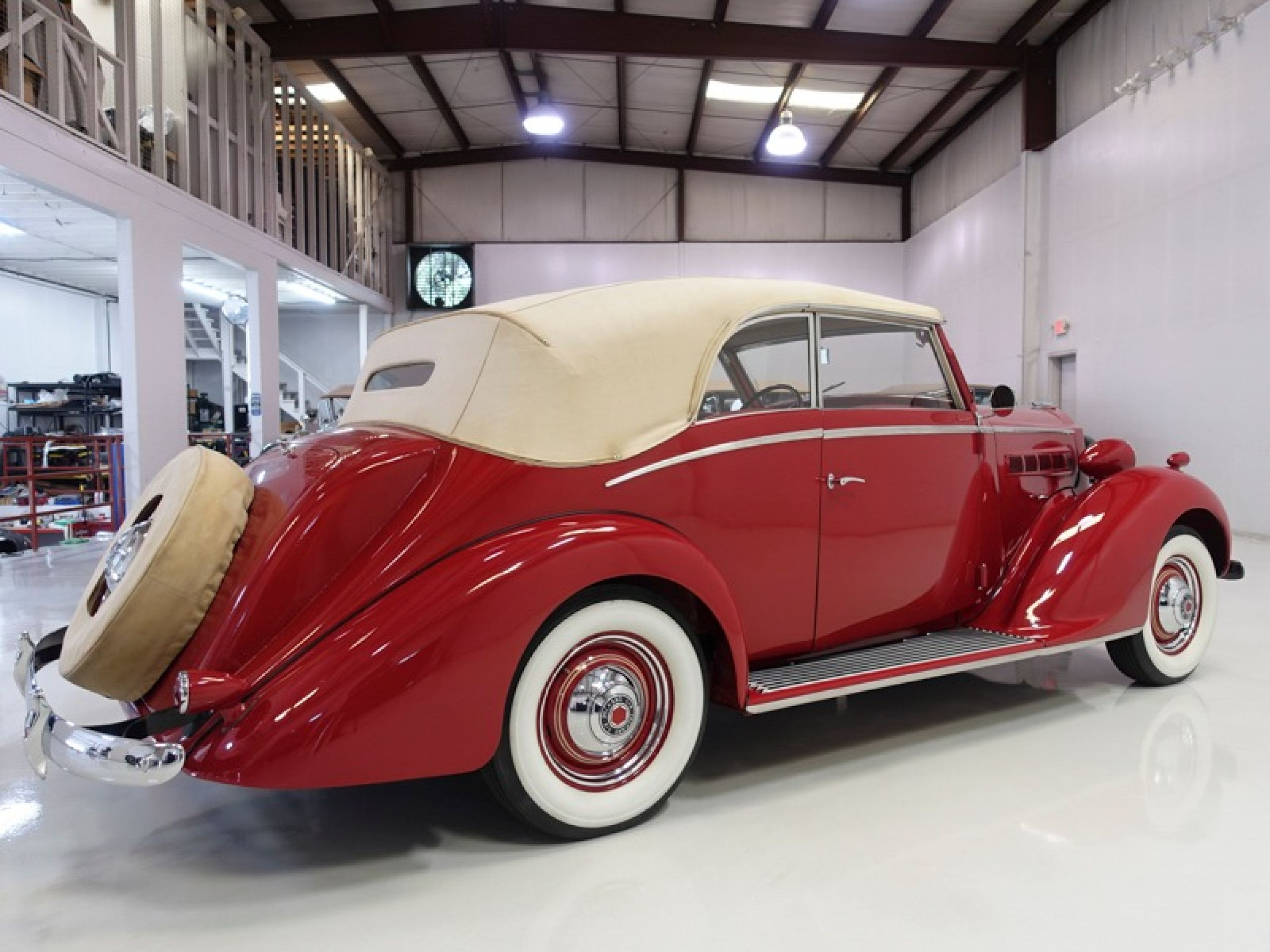 1937 Packard 115-C Coachbuilt Cabriolet by Graber
